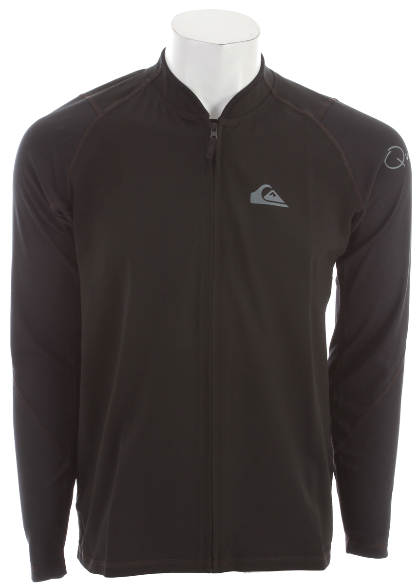 Surf The Quiksilver Hybrid Sup Jacket is certainly a great representative of the Quiksilver brand as it features a simplistic and stylish look that is backed up by genuine quality. Much of this comes from the unbrushed polypropylene body, which makes for a unique look, but more importantly a high quality product with unparalleled durability and strength. In contrast to this, the sleeves feature a bamboo/poly mesh that ensures breathability, finishing this jacket as an easy-to-love favorite.Key Features of the Quiksilver Hybrid Sup Jacket: Front zip style paddle jacket Unbrushed polpropylene body Bamboo/poly mesh sleeves for breathability Imported - $36.95