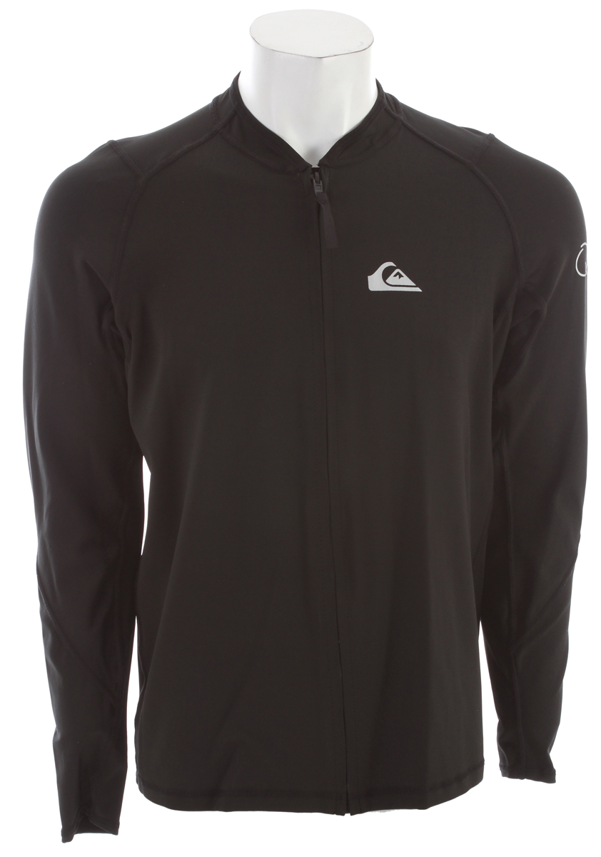 Surf Front zip paddle jacket made of unbrushed polypropylene body and arms. Imported.Key Features of the Quiksilver Polypro Sup Jacket:50  UPF RatingMade of Polyester - $54.95