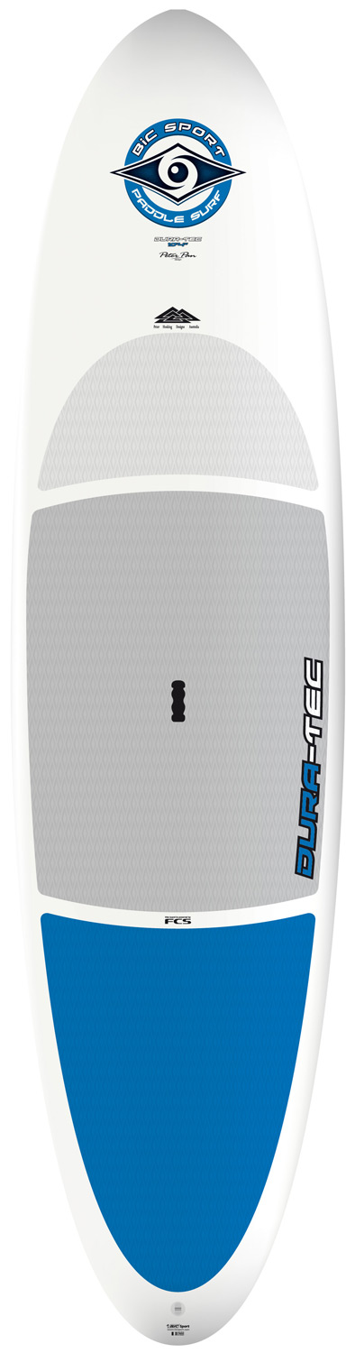"Wake DURA-TEC, as the name implies, features BIC's legendary durability in an exclusive, nearly indestructible construction technology. DURA-TEC boards, available in 9'4, 10'4 and 11'4, are user-friendly with solid performance at a budget-friendly price. They are ideal for families, clubs, schools and novices looking for value and low-maintenance, stress-free performance. DURA-TEC technology features a molded polyethylene shell (similar to the shell of our rugged kayaks but lighter weight) injected with polyurethane surfboard foam for authentic boardsport performance. This exclusive BIC Sport technology allows your new Stand Up Paddleboard to survive knocks and bumps that would see a fibreglass board out of the water requiring repairs.Key Features of the Bic Dura-Tec 10Ft 4In: PREMIUM DURABILITY Rugged & Highly Durable Easy and Stable Shapes For Novice to Intermediate Riders Ultra-Durable Polyethylene Outer Shell Fully Integrated FCS Fin Box Watertight Polyurethane Foam Inner Core Length 10'4'' / 315cm Width 31.0'' / 79cm Thick 4.0"" / 10.2cm Weight 35lbs / 16.0kg Volume 175L Fin Center FCS Dolphin 10'' Fin Side - Fin Box Single Fin Shaper Peter Hosking W 1ft/30cm nose 20.5"" / 52cm W 1ft/30cm tail 19.25"" / 49cm - $790.95"