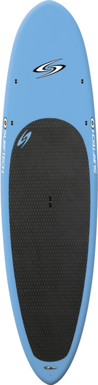 "Surf The Generator has been specially designed to be light and easy to carry. Randy French shaped this versatile board to be great for surfing, or just cruising around the harbor or lake!* Board Nose Width 20"" * Board Width 29.88"" * Board Tail Width 17.75"" * Board Thick 4.29"""" * Board Volume 142.3 cm * Board Fin System Single/FCS * Board Shaper Randy French - $899.00"