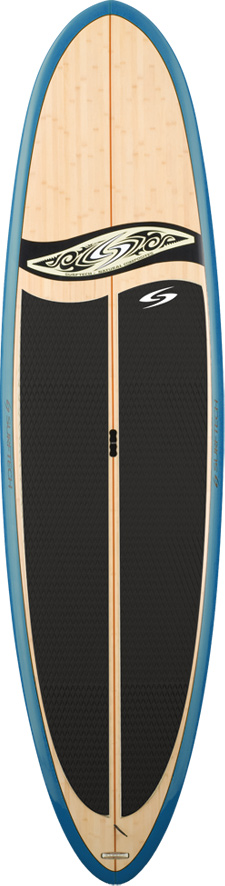"Surf The Generator has been specially designed to be light and easy to carry. Randy French shaped this versatile board to be great for surfing, or just cruising around the harbor or lake!Key Features of the Surftech Generator Bamboo SUP Paddleboard Bamboo 11' 6"": Length: 11'6"" Width: 31.5"" Thick: 4.5in Volume: 188.7L Fin: FCS 2 1 - $1,390.00"