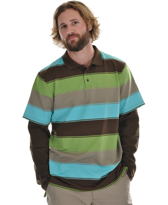 Snowboard Stand out in this great shirt, the Burton Waffle First Layer Polo. Made with dryride ultrawick polyester, this shirt is super soft to the touch. This shirt is quick drying and highly breathable. It features great colorful horizontal stripes throughout, adding great appeal. Super comfortable, add this shirt to your wardrobe and rock it with confidence and style.Key Features of the Burton Waffle First Layer Polo: DRYRIDE Ultrawick Polyester / Spandex Blend with Waffle Arms Quick-Drying and Highly Breathable Stretch 360 for Unlimited Mobility Stink-Proof Antimicrobial Finish 3-Button Collar - $51.95