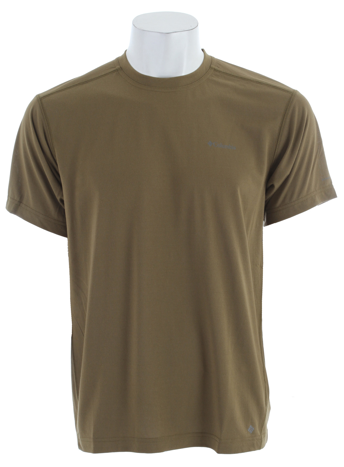 Key Features of the Columbia Mountain Tech II Crew Base Layer Shirt: 100% polyester jersey Omni-Wick™ UPF 15 sun protection Antimicrobial - $19.95