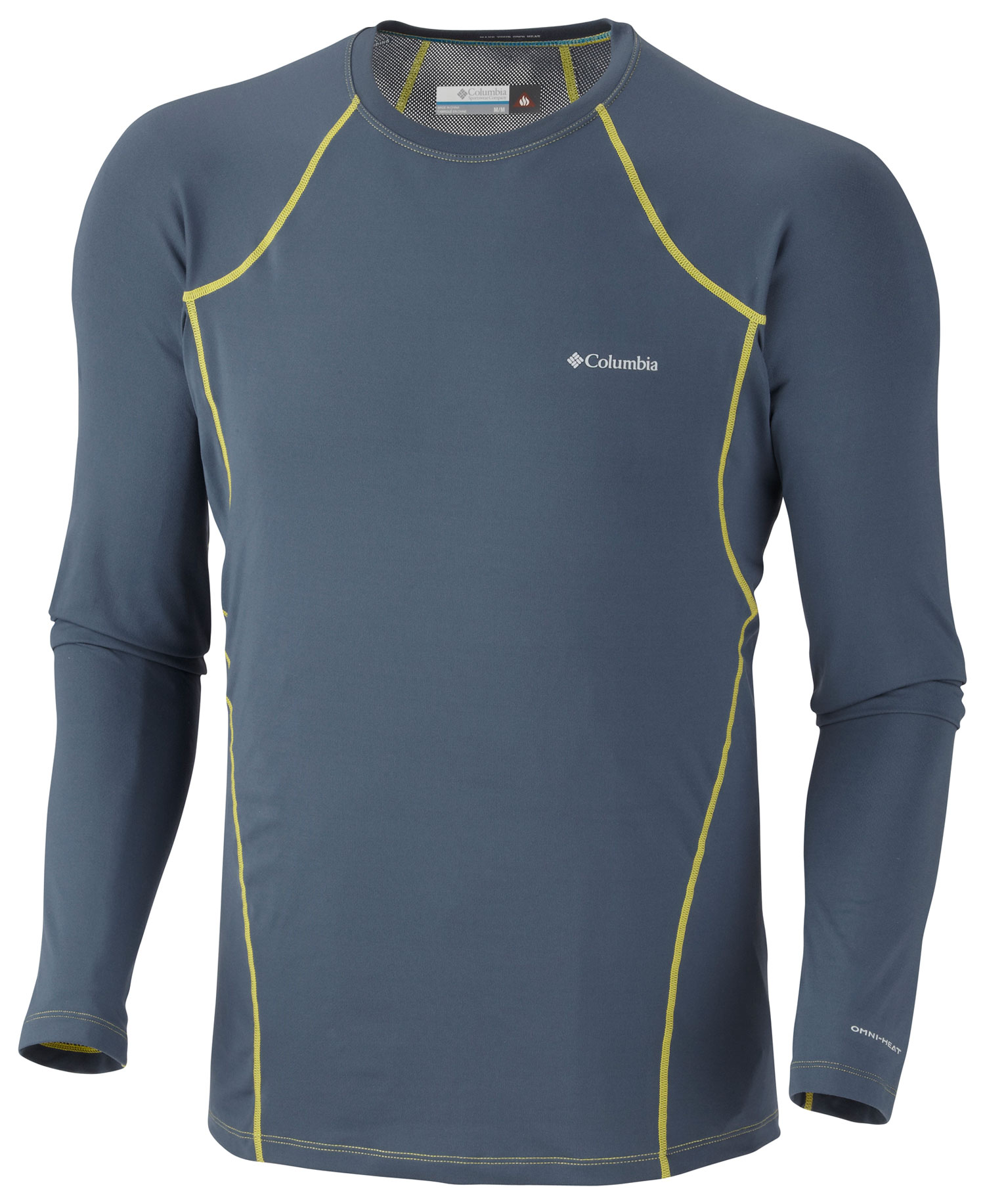The Columbia Baselayer Midweight is a sleek, comfortable and highly functional piece of clothing that will be appreciated in the backcountry. How  Well, for starters it features Omni technology. That's right, technology in a garment. First, it has Omni-wicks throughout. That gathers up sweat and allows it to evaporate. Then there is the lining. Featuring Omni-Heat reflectors, this stuff keeps the sun from overheating the wearer. It is also antimicrobial, so there is no worry about contracting a rash or fungus as backcountry trails are conquered in the Columbia Midweight top.  FABRIC 85% polyester/15% elastane sweet rev.   FIT Performance   Omni-Heat thermal reflective   Omni-Wick   Breathable   Antimicrobial   4-way comfort stretch   Ergonomic seaming - $24.95