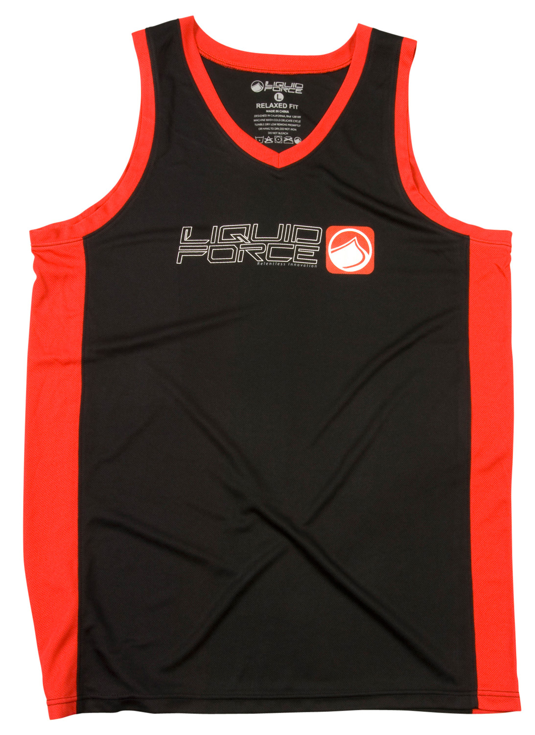 Surf Key Features of the Liquid Force Push It Riding Tank: Wicking Fabric Tank Top Loose Fit Offers UV and rash protection 4-way stretch - $34.95
