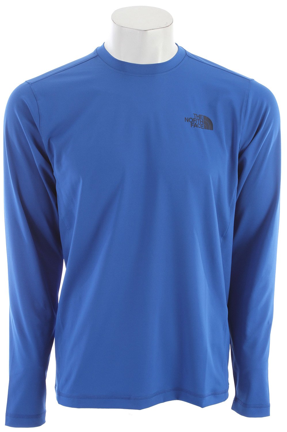 "A lightweight, quick-drying, stretch shirt with sun protection for all-day water adventure. Key Features of The North Face Class V L/S Water Shirt: Soft quick-drying four-way stretch knit Quick-drying performance Flat-locked stitching for comfort and reduced abrasion Relaxed fit Ultraviolet Protection Factor (UPF) 50 Avg weight: 210 g (7 oz) Center back: 27"" Fabric: 75D 208 g/m² (7.33 oz/yd2) 82% polyester 12% elastane jersey - $30.95"