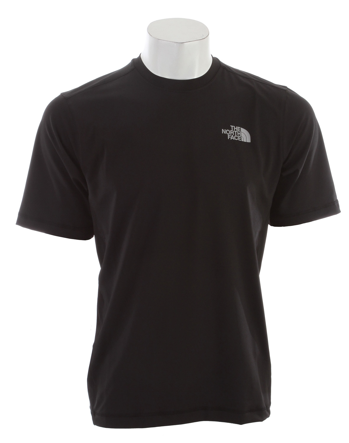 "A lightweight, quick-drying, stretch short sleeve with sun protection for all-day water adventure. Key Features of The North Face Class V Water Shirt: Soft quick-drying four-way stretch knit Quick-drying performance Flat-locked stitching for comfort and reduced abrasion Relaxed fit Ultraviolet Protection Factor (UPF) 50 Avg weight: 210 g (7 oz) Center back: 27"" Fabric: 75D 208 g/m2 (7.33 oz/yd2) 82% polyester 12% elastane jersey - $23.95"