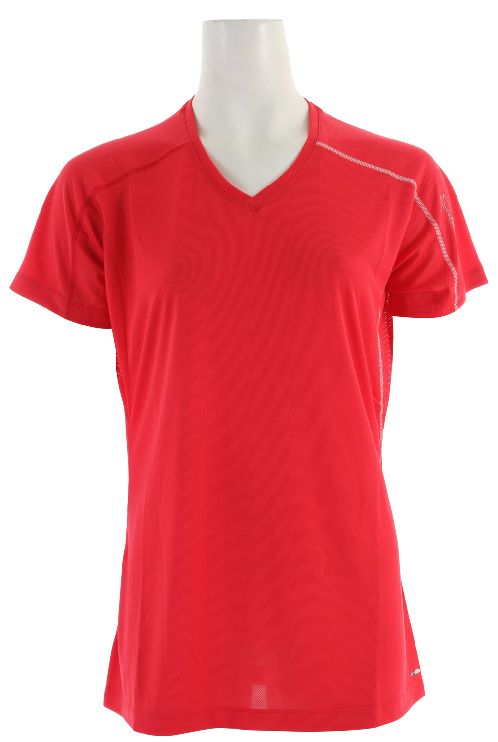 Fitness Relaxed fitting, versatile tee for running and outdoor sports with stretch actiLITE fabric and mesh underarm. Updated seam detailing and stash pocket.Key Features of the Salomon Trail IV T-Shirt: SMART SKIN Flatlock Seams Stash Pocket Reflective Branding Front & Back actiLITE Stretch Mesh actiLITE Poly Mock Eyelet Relax Fit - $18.95
