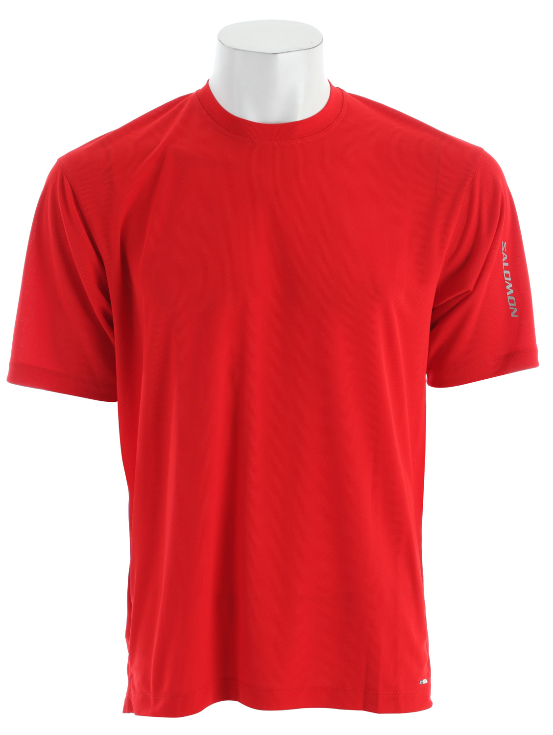 Fitness Very light, very breathable running T-Shirt with reflective detailing and a relaxed fit.Key Features of the Salomon X T-Shirt: Actilite poly mock eylet Reflective branding Flatlock seams Body: PES 100% Relax fit 100g - $20.95