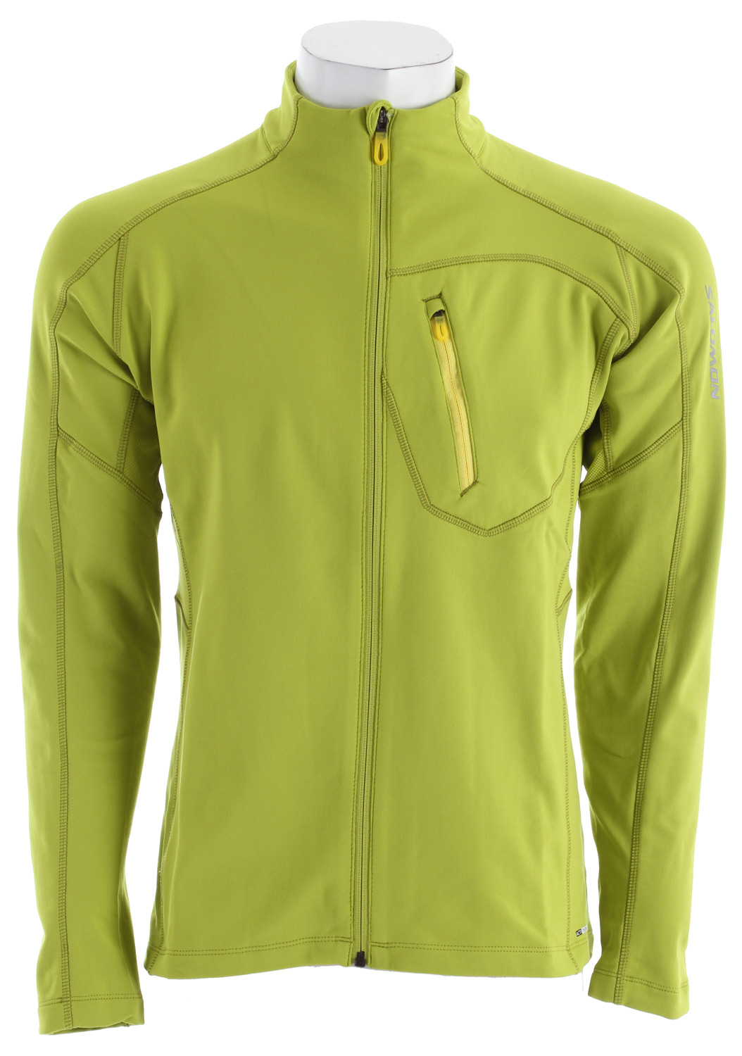 Camp and Hike Ultra soft, breathable, fitted midlayer provides a little extra warmth for aerobic sports.Key Features of the Salomon XA Midlayer Top: Smart Skin Actitherm mid jersey 1 chest pocket Reflective branding Insert: PES 91% EL 9% Body: PES 87% EL 13% Active Fit 400g - $54.95