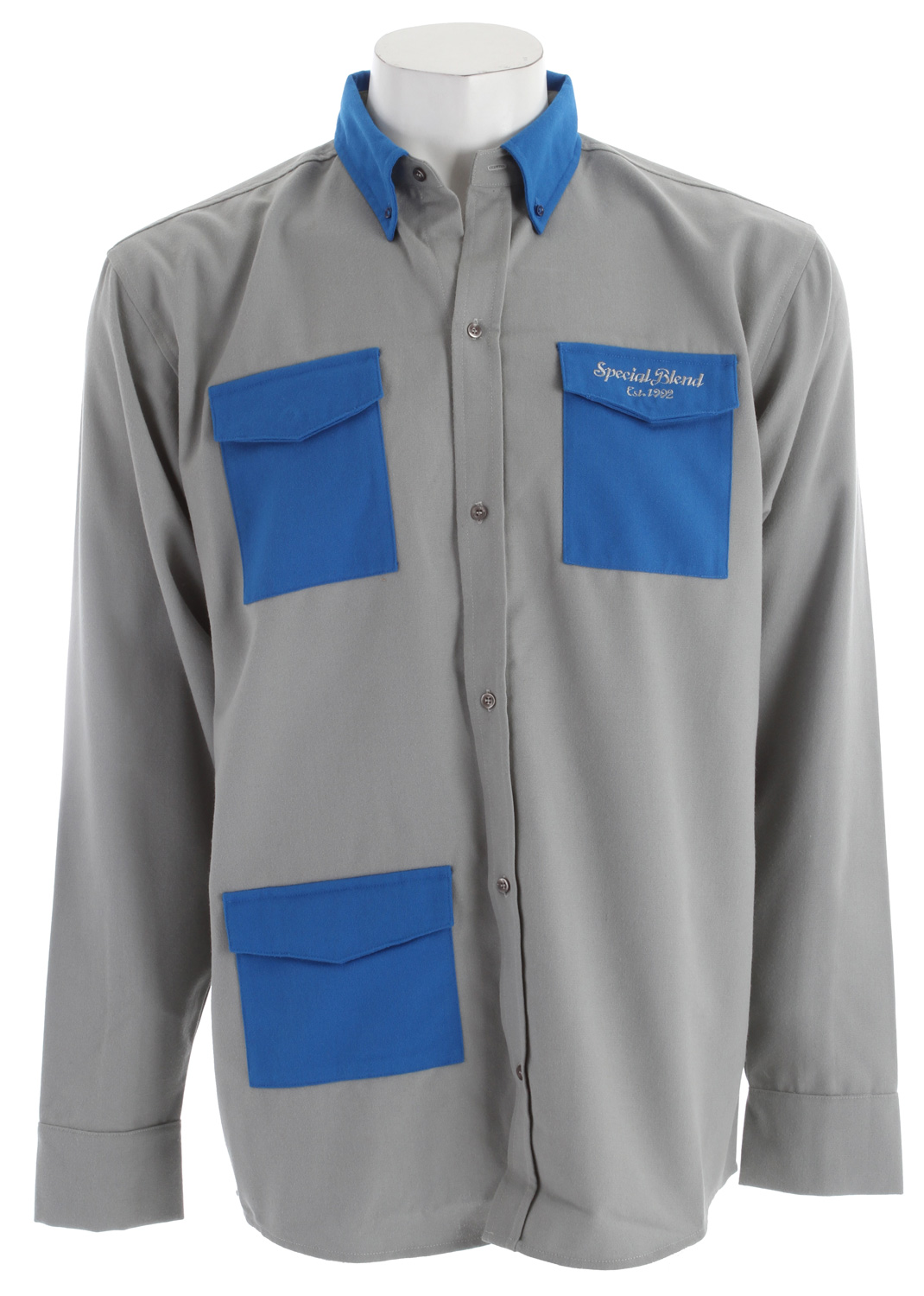 Cold weather means that you need extra protection in order to stay safe and comfortable outdoors, and this Special Blend Blue Collar Baselayer Top is the best first layer of winter clothing. You will love the unique look that is modeled after blue collar workman's clothes. This top is made of polyester poplin and has moisture wicking and quick drying properties that will keep you comfortable even if you start to sweat.Key Features of the Special Blend Blue Collar Baselayer Top: Polyester Poplin - Wicking and Quick Drying - $19.08