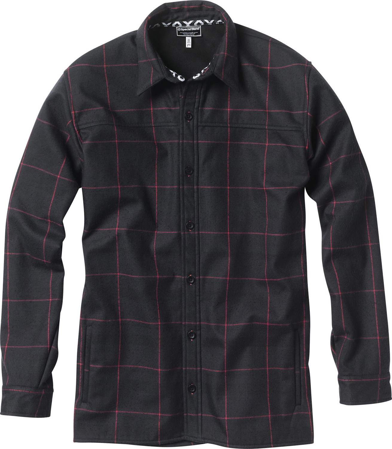 Key Features of the Special Blend Last Call Flannel Shirt: Bonded Flannel Revolver Slim Fit Wind-Resistant with DWR coating Yarn-dye custom flannel face fabric Brushed tricot lined hand-warmer pockets Chest pockets - $48.95