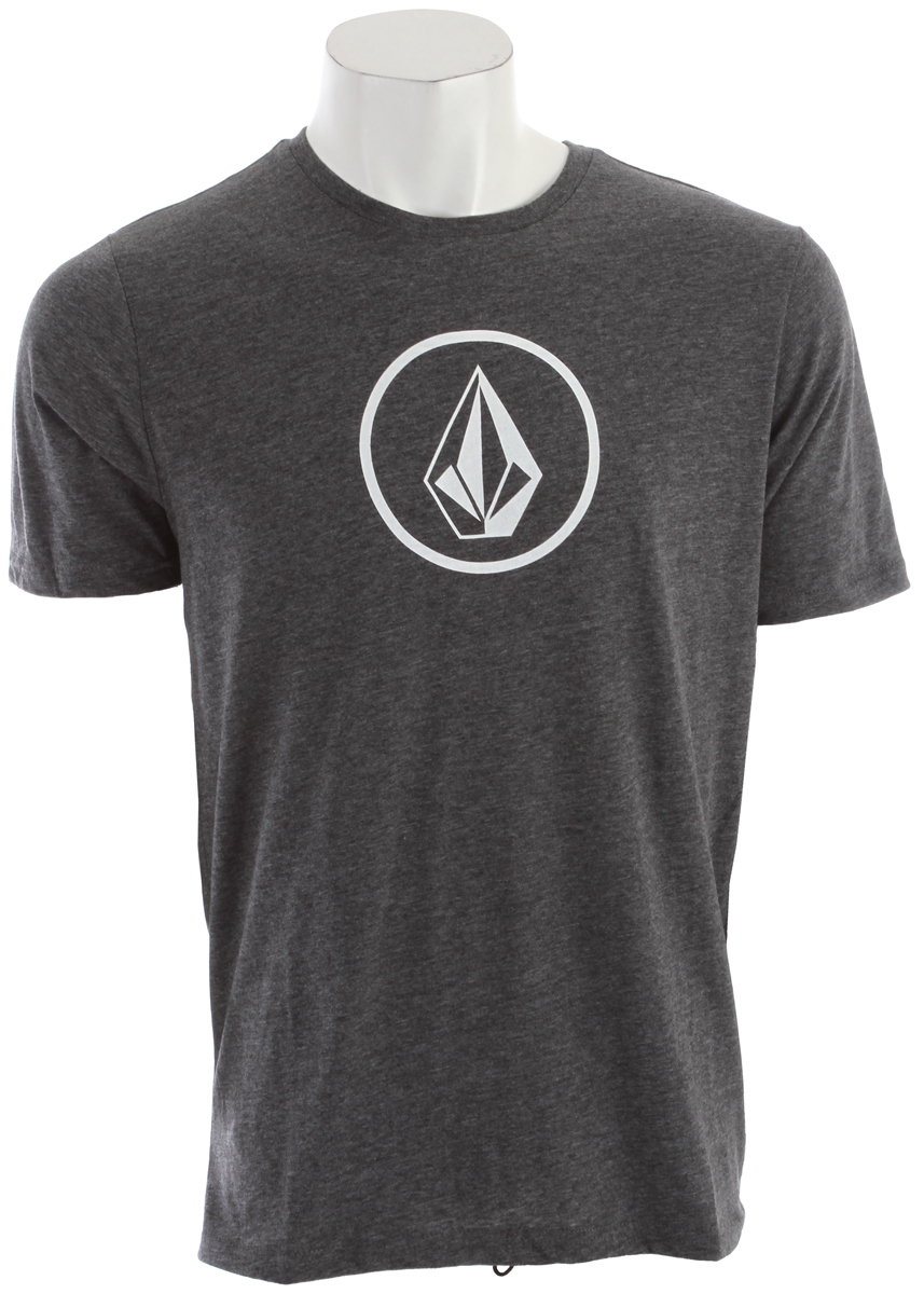 Surf Key Features of the Volcom Round Stone Surf Shirt:  Heathered surf tee  Screen on center chest and high back  Quick dry surf shirt  85% Polyester / 15% Elastane - $21.95