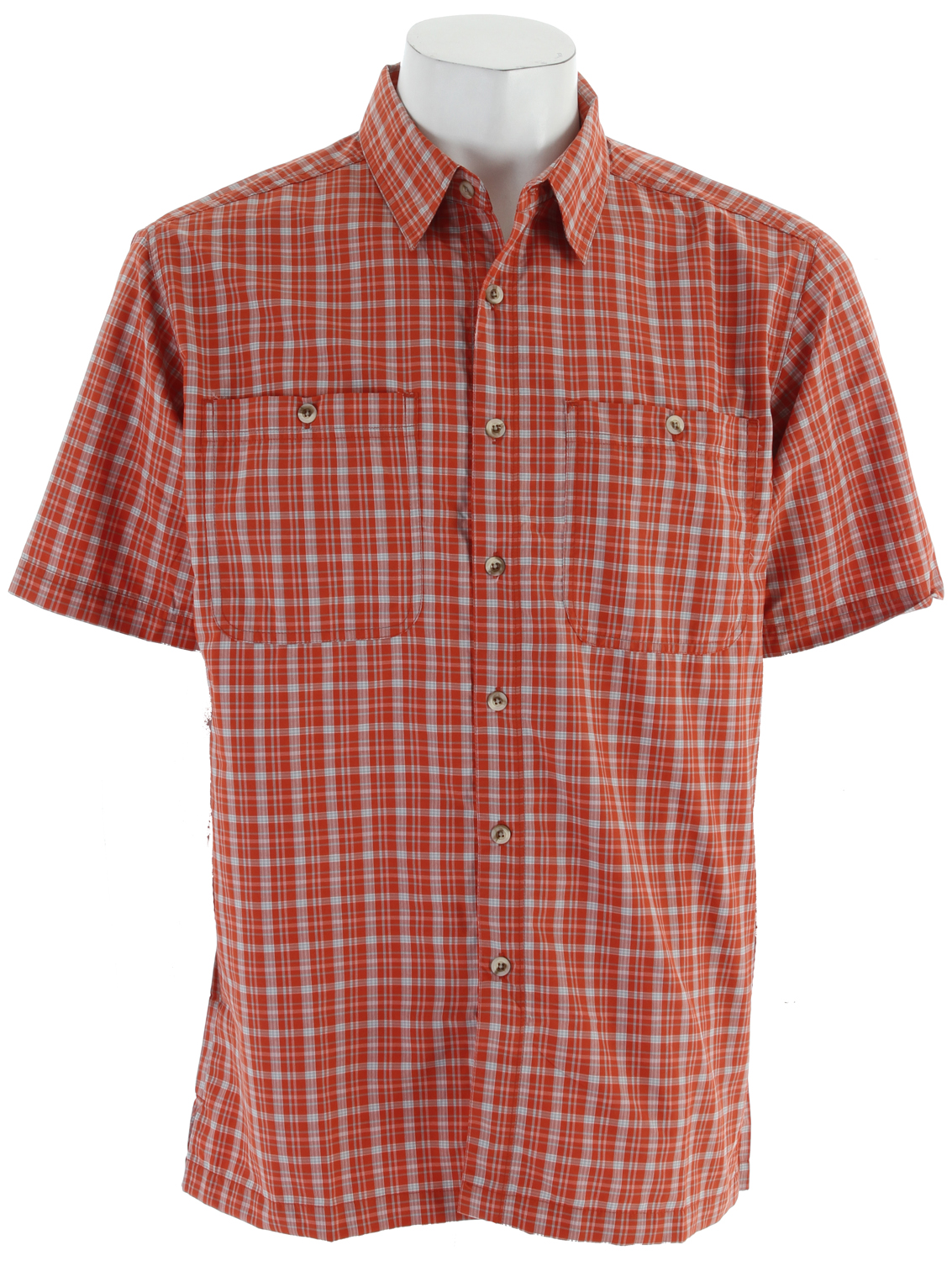"Throw on the Richmond Point Short Sleeve Shirt for all your long afternoon walks. No matter at the local restaurant or your backyard bbq, this classic plaid will keep you cool with the sun on your back.Key Features of the White Sierra Richmond Point Shirt: 64% nylon 36% polyester woven plaid UPF 30 Wicking 2 chest pockets 31.5"" back length - $32.45"