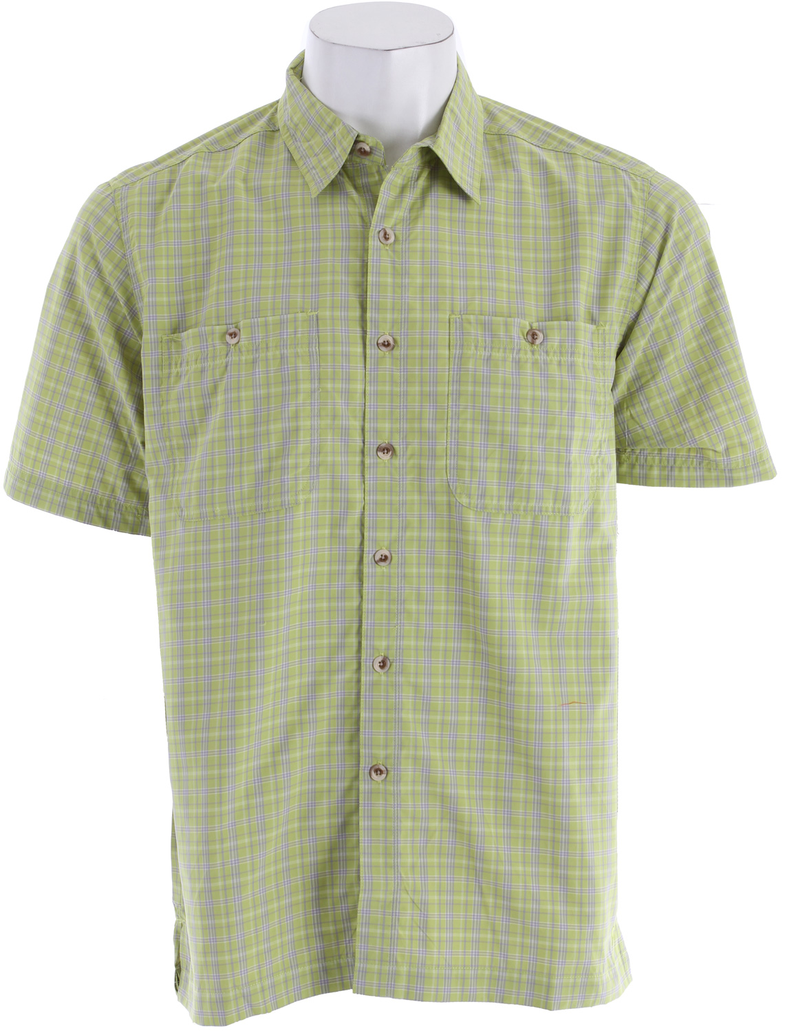 "Throw on the Richmond Point Short Sleeve Shirt for all your long afternoon walks. No matter at the local restaurant or your backyard bbq, this classic plaid will keep you cool with the sun on your back.Key Features of the White Sierra Richmond Point Shirt: 64% nylon 36% polyester woven plaid UPF 30 Wicking 2 chest pockets 31.5"" back length - $29.95"