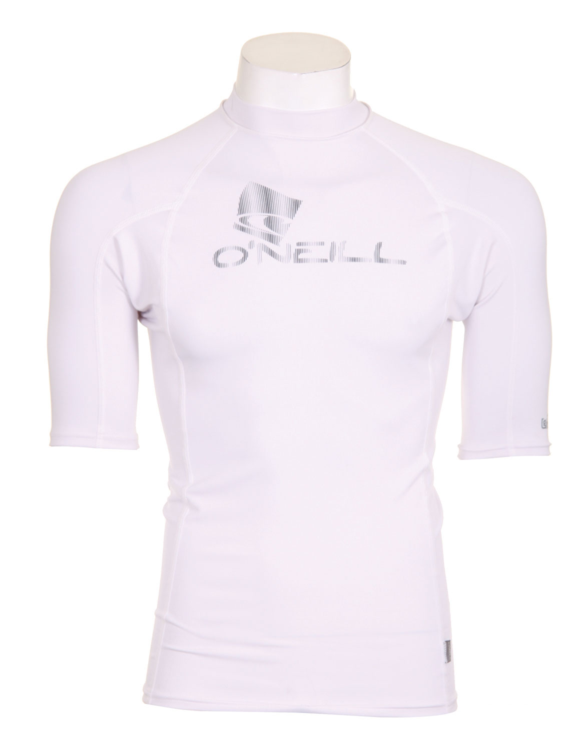 Surf RG8 means all products in this series are built from 90% recycled bottles and plastics and printed with water-based inks. The RG8 line features the same UV and rash protection as O'Neill's traditionally constructed lycra pieces.Key Features of the O'Neill RG8 S/S Crew Rashguard: Rash protection RG8 - Constructed 90% of recycled bottles and plastic U.P.F 50+ Seamless Paddle Zones - $24.95