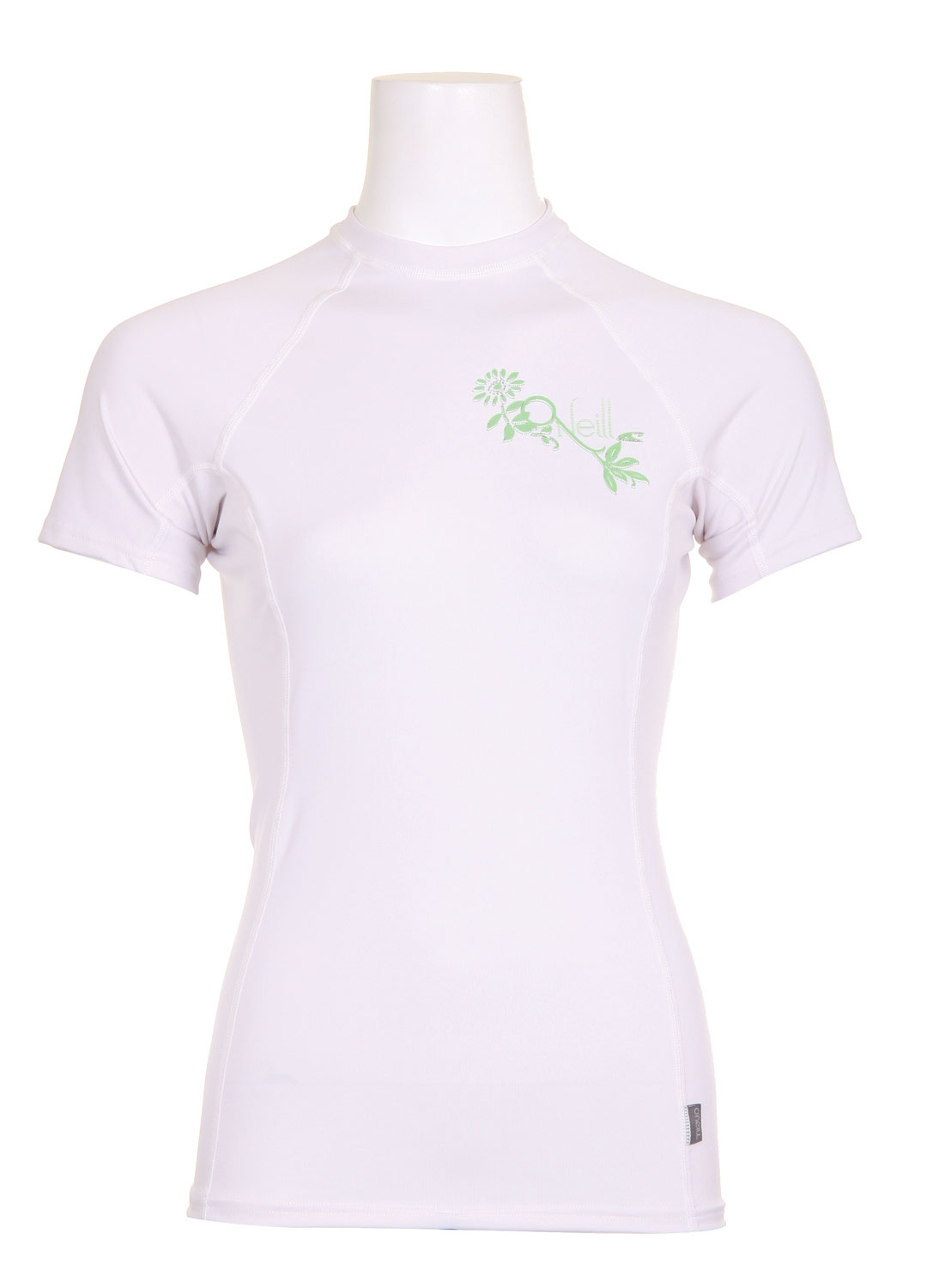 Surf RG8 means all products in this series are built from 90% recycled bottles and plastics and printed with water-based inks. The RG8 line features the same UV and rash protection as O'Neill's traditionally constructed lycra pieces.Key Features of the O'Neill Skins RG8 Women's Rashguard: Rash protection RG8 - Constructed 90% of recycled bottles and plastic U.P.F 50+ Seamless Paddle Zones - $24.95