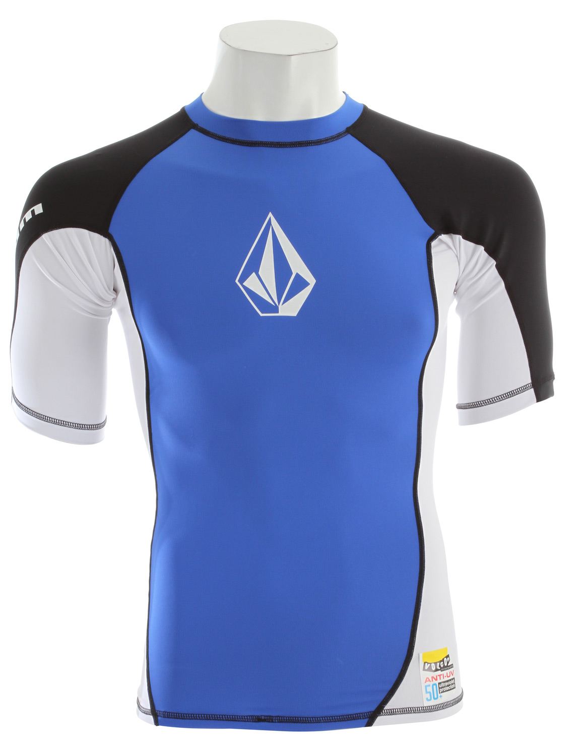 Surf Built with the same power and procession as out best-selling boardshorts, the long sleeve Colorblocked is more than just a rashguard-it's a thrashguard! Turn it and burn it, you'll be amazed at the damage it can endure. Plus, it keeps the rays at bay with 50+ anti UV armor. 88% nylon/12% elastane. - $28.95