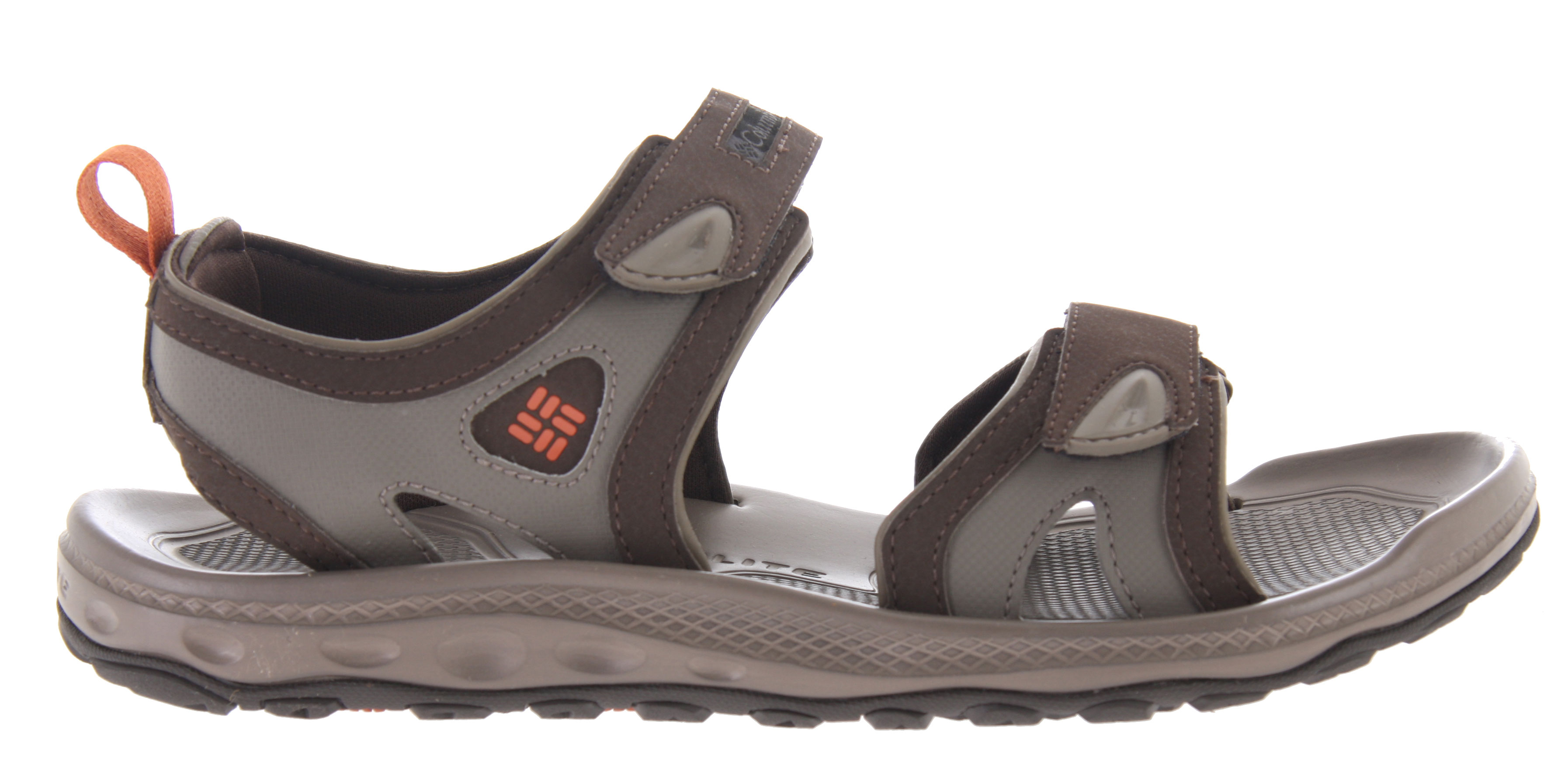 "Surf Dual strap water and land sandal, the Techsun 2 sandal is designed for multiple activities in and around water environments.Key Features of the Columbia Techsun 2 Sandals: Dual synthetic velcro straps for adjustable fit and to secure the foot over the footbed. Full length Techlite midsole with textured footbed for ""anti-slip"" underfoot Full length Omni-Grip traction with sticky rubber compound for traction in wet conditions; dual lug design for traction on land, rocks, and in and around the water. - $39.95"