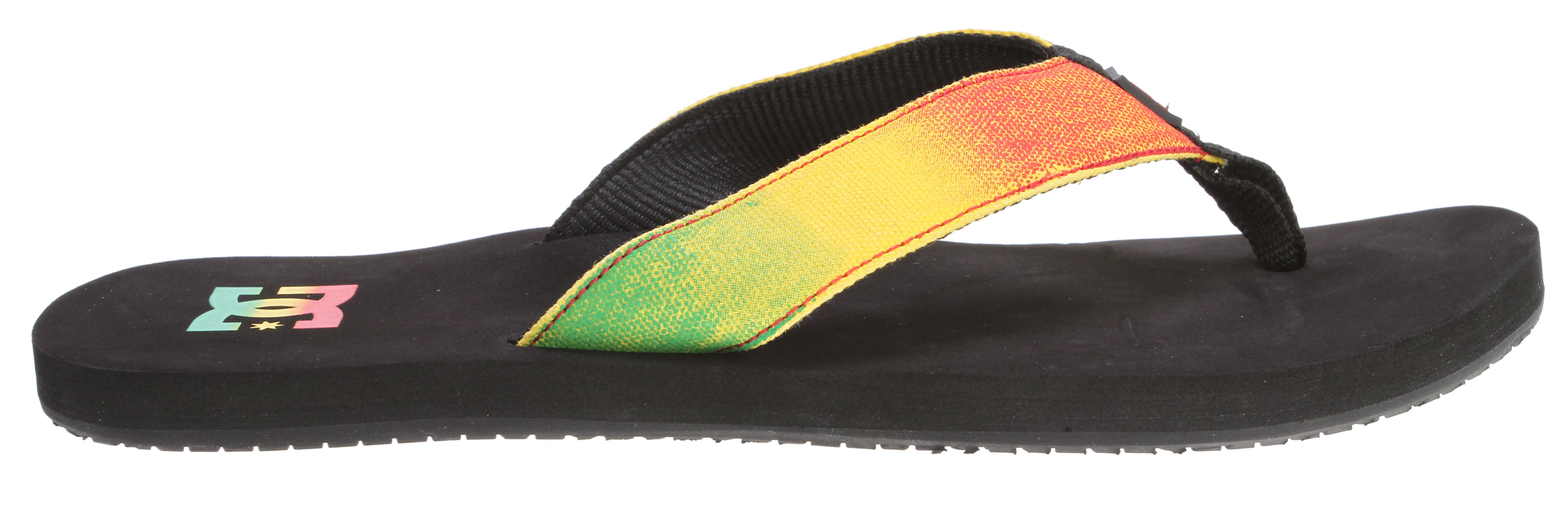 Skateboard Can a sandal change your whole outlook on life as soon as you slip your feet into them? Please send you''re responses to DC HQ, because we don''t have the answer to that question. But we do have the Habit sandals, which can almost do that. - $15.95