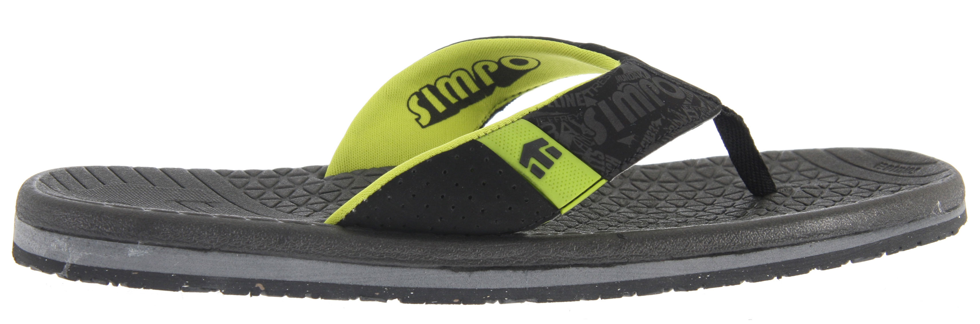 Skateboard The Etnies Dume sandals offer steezy style, quality construction, and lasting performance for all your summer fun. Their EVA footbed maximizes comfort so you feel great wearing them all day, and the eco friendly neoprene lining keeps your feet dry and fresh. TPR logo detailing shows off your Etnies style, and the durable rubber outsole can take a beating over rough terrain. Look great from the beach to the lake and get Etnies fashion and quality with their Dume sandals.Key Features of the Etnies Dume Sandals:  Contoured EVA footbed providing maximum comfort  TPR logo detailing  Soft eco-friendly neoprene lining  Rubber outsole - $24.95