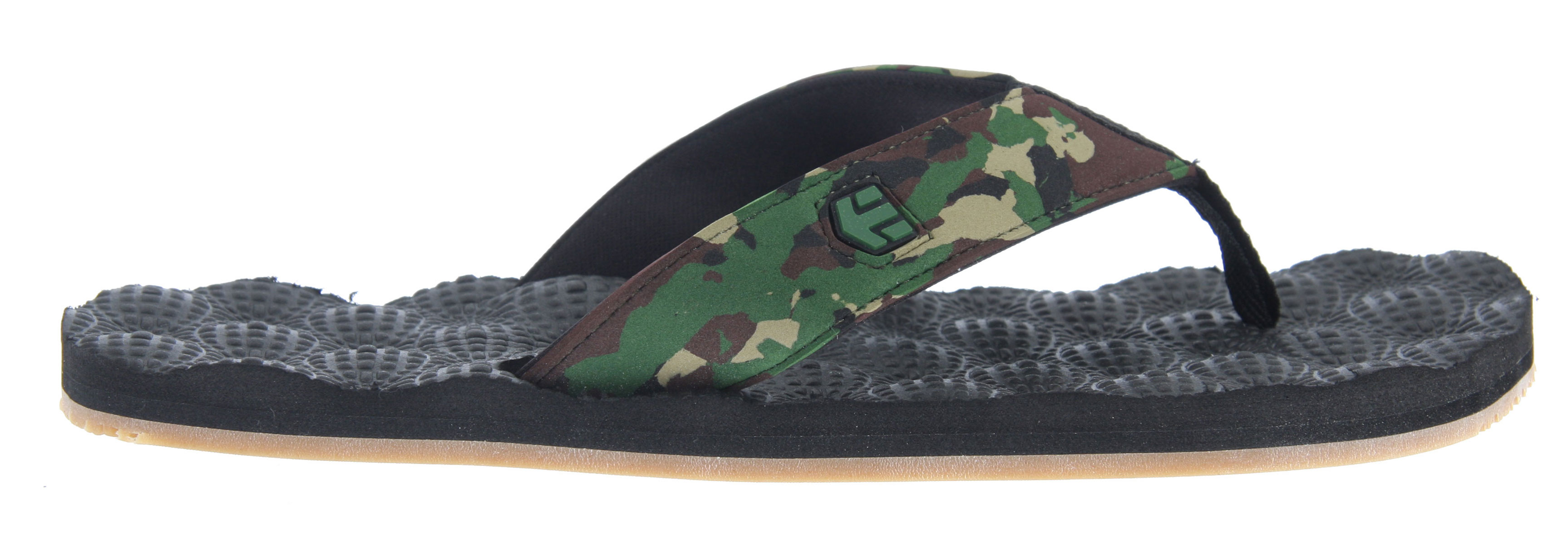 Skateboard Key Features of the Etnies Foam Ball Sandals: Designed by Jamie O'Brien Super soft molded EVA footbed Eco-friendly neoprene lining Rubber outsole - $24.95