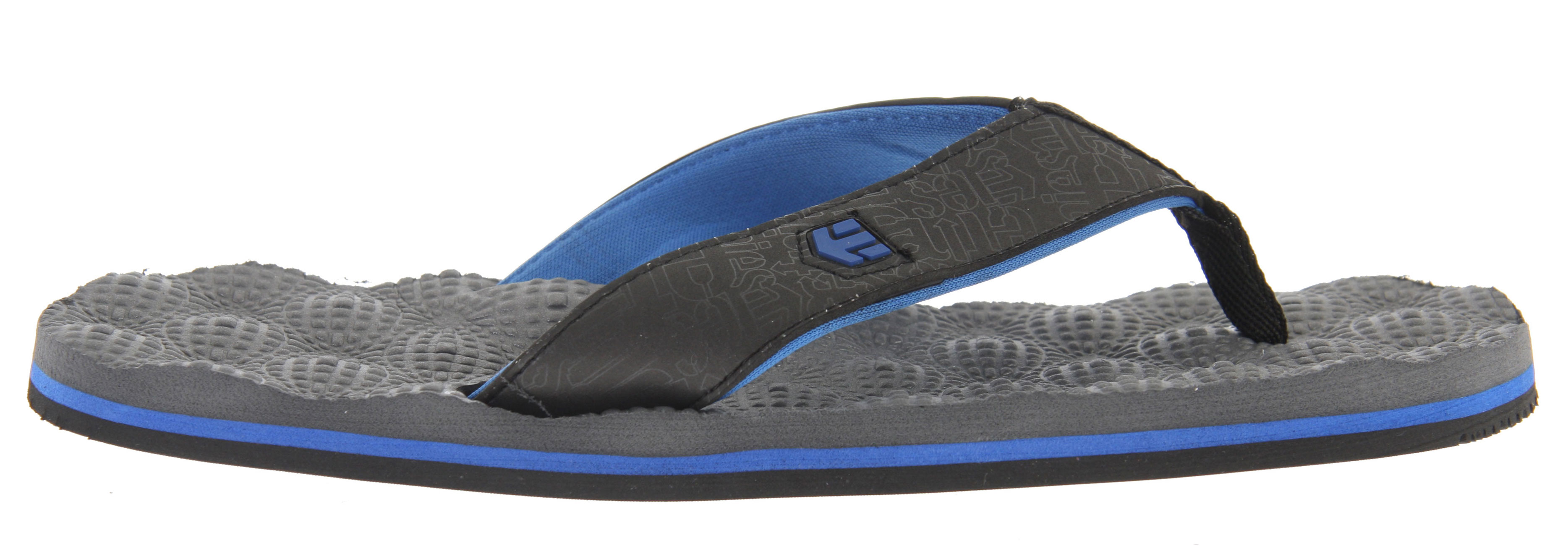 Skateboard Key Features of the Etnies Foam Ball Sandals: Designed by Jamie O'Brien Super soft molded EVA footbed Eco-friendly neoprene lining Rubber outsole - $15.95