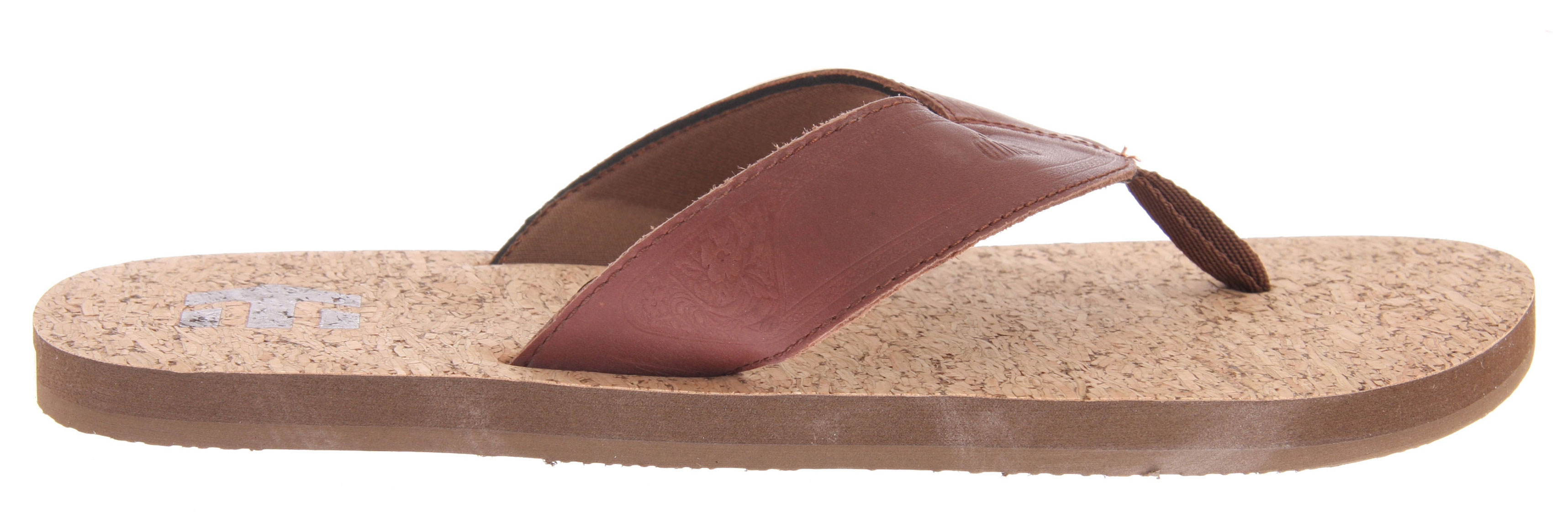 Skateboard Key Features of the Etnies Playa Sandals: Designed by the Molloys Textile cork or leather lined EVA footbed Heat embossed leather straps with eco-friendly neoprene lining Rubber outsole - $18.95
