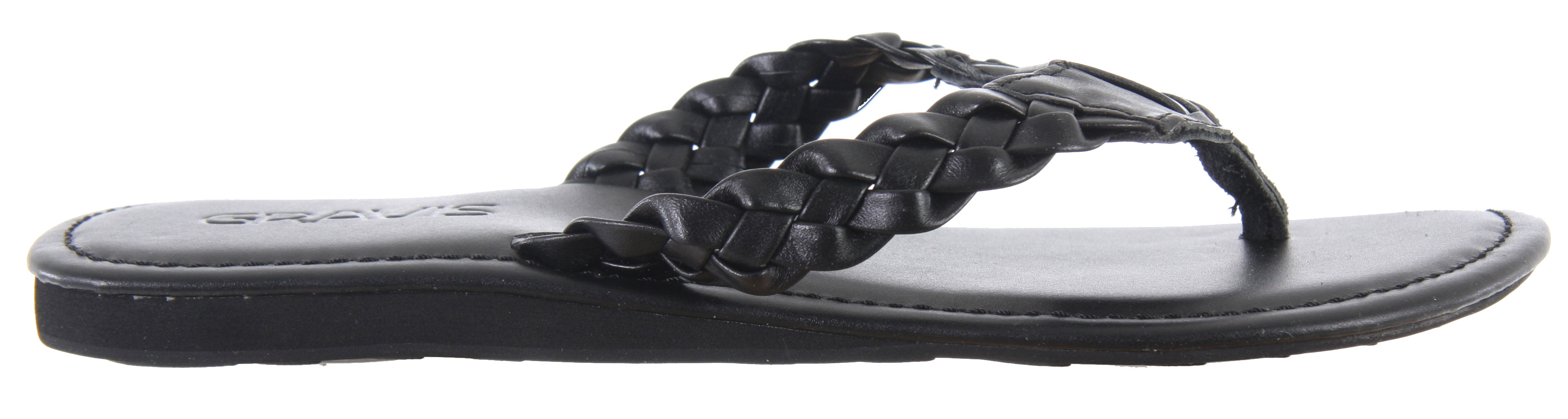 Surf Add a bit of femininity to your outfit by rocking these Gravis Athena Sandals. Featuring a braided strap detail, instantly add glam and character to your look. With its slender design, these sandals will compliment all your summer dresses. With a soft footbed and durable soles, be sure to feel comfortable and confident all season long.Key Features of the Gravis Athena Sandals: Braided strap detail with added Gravis logo Arch support Slender design EVA cushioning in midsole. Durable synthetic outsole - $8.95