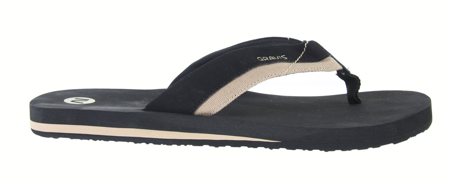 Surf The Gravis Playa Sandals features a classic T-strap design made of suede. So soft to the touch, you'll feel comfortable all day long. With its cushioned strap and midsole for added comfort, these sandals are a true necessity this summer. Don't be without this great pair of sandals as it will provide ultimate comfort all summer long.Key Features of the Gravis Playa Sandals: Soft split suede upper strap and top deck. Non-collapsing cushioned strap for comfort and fit. Cushioning EVA midsole with arch support. High-traction rubber tread outsole - $12.95