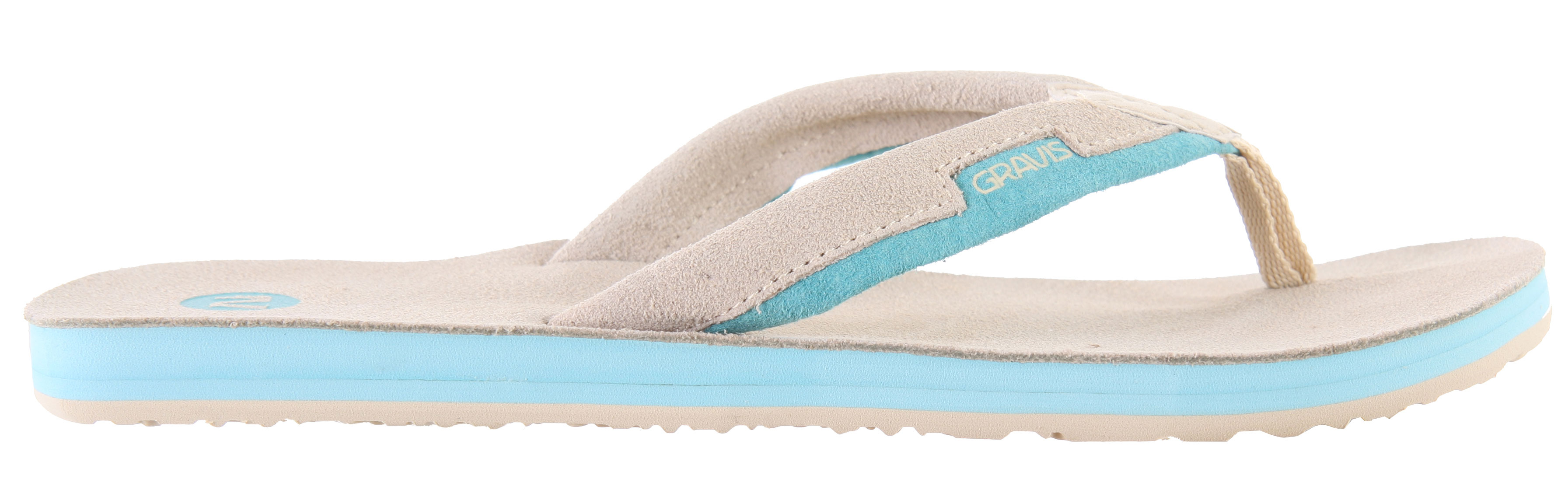 Surf Free your feet and get ready for summer with the Gravis Slider sandals. Premium leather is uses on the top deck, straps, and lining for extra comfort. The molded footbed with arch support lets you rock the Sliders all day, and the rugged synthetic outsole means they'll hold up to terrain from the beach to the pool. It's time to get out of those sneakers and boots and show your feet the light with the Gravis Slider sandals.Key Features of the Gravis Slider Sandals: Premium leather topdeck, straps, and lining Molded footbed Gravis logo on footbed and straps. Arch support Durable synthetic outsole - $10.96