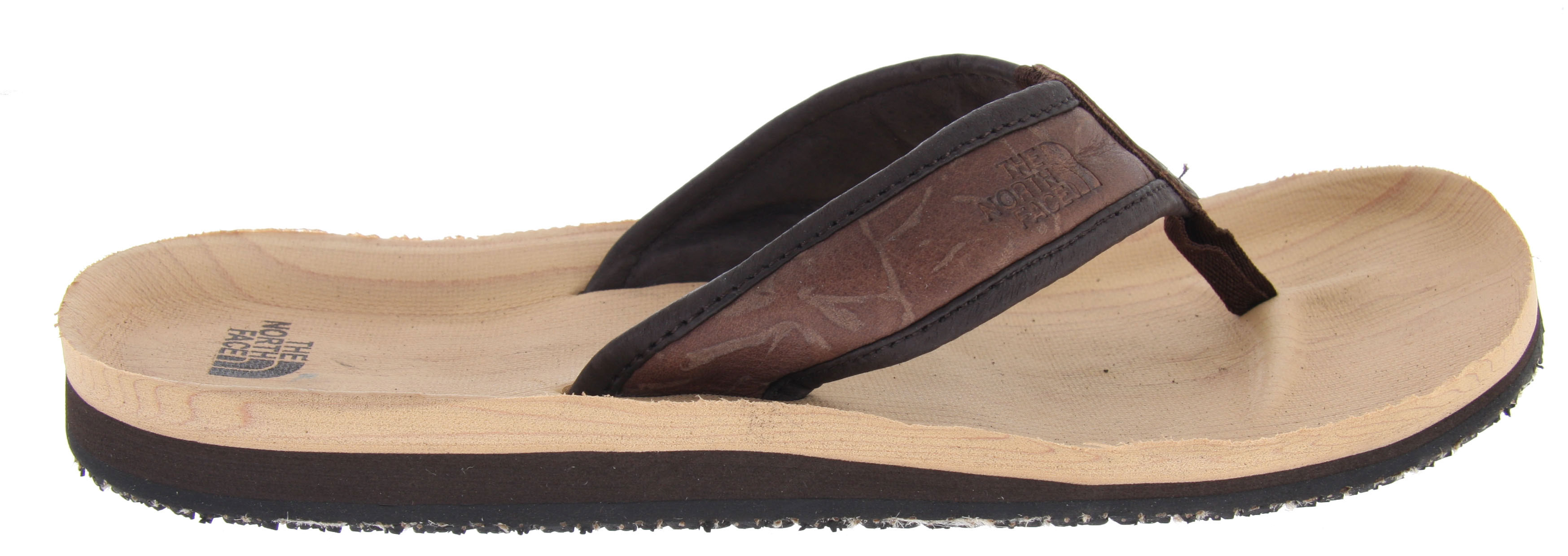 Surf With wood grain-inspired EVA footbed design, this The North Face Tree Point sandal blends a natural look with comfort and durability.Key Features of The North Face Tree Point Sandals: Distressed, full-grain leather strap Soft, comfortable nubuck leather strap lining Contoured, compression-molded footbed Wood-grain-inspired EVA footbed treatment Die-cut EVA midsole with enhanced arch support Burlap-infused durable rubber outsole - $25.95