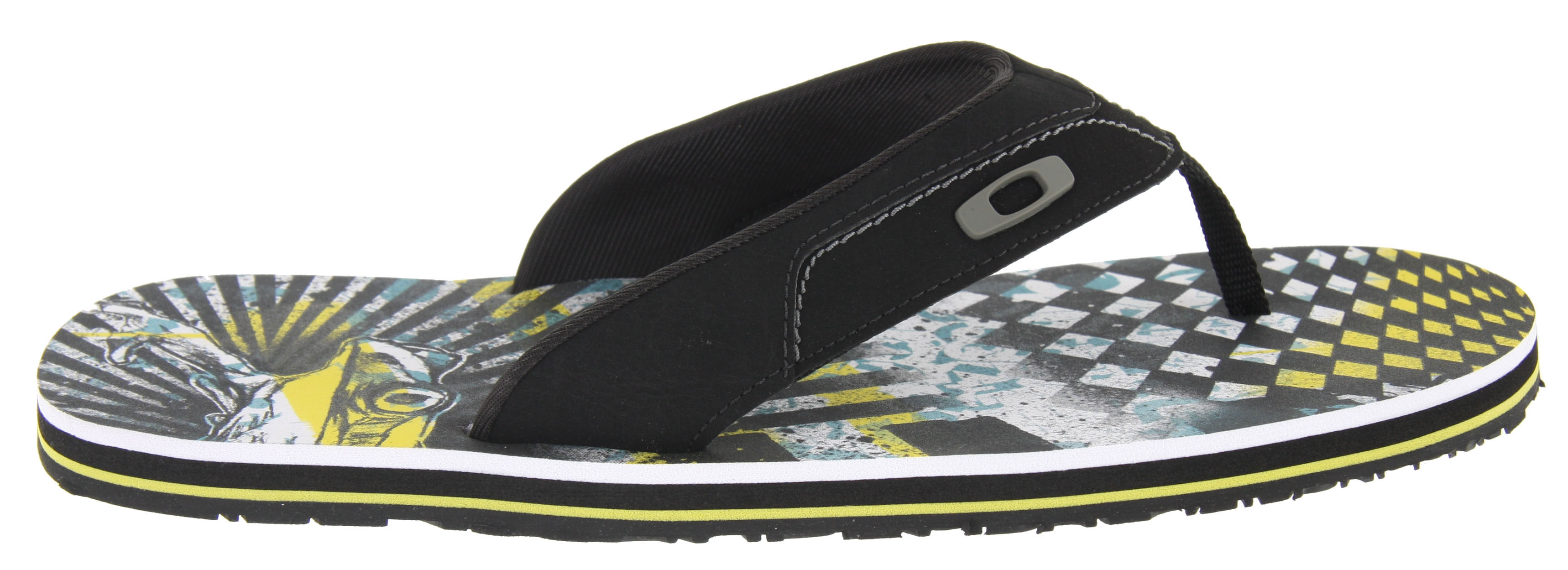 Surf If you're gearing up for a beach blitz or just looking for sandals to stoke your surfer soul, slide into a pair of Oakley O-STRAP. Oakley turned the foot bed into a work of art and took comfort to the level you deserve. EVA and RED CODE foam put plush resilience in every step. Microban treatment helps control odor, and the durable UNOBTAINIUM outsole gets a grip on Mother Earth.Key Features of the Oakley O Strap Sandals: 1.2mm synthetic microfiber upper Water-shedding textile lining with neoprene foam backing Odor control of Microban antimicrobial treatment Underfoot cushioning of die cut EVA with RED CODE foam Abrasion resistant UNOBTAINIUM rubber outsole - $18.95