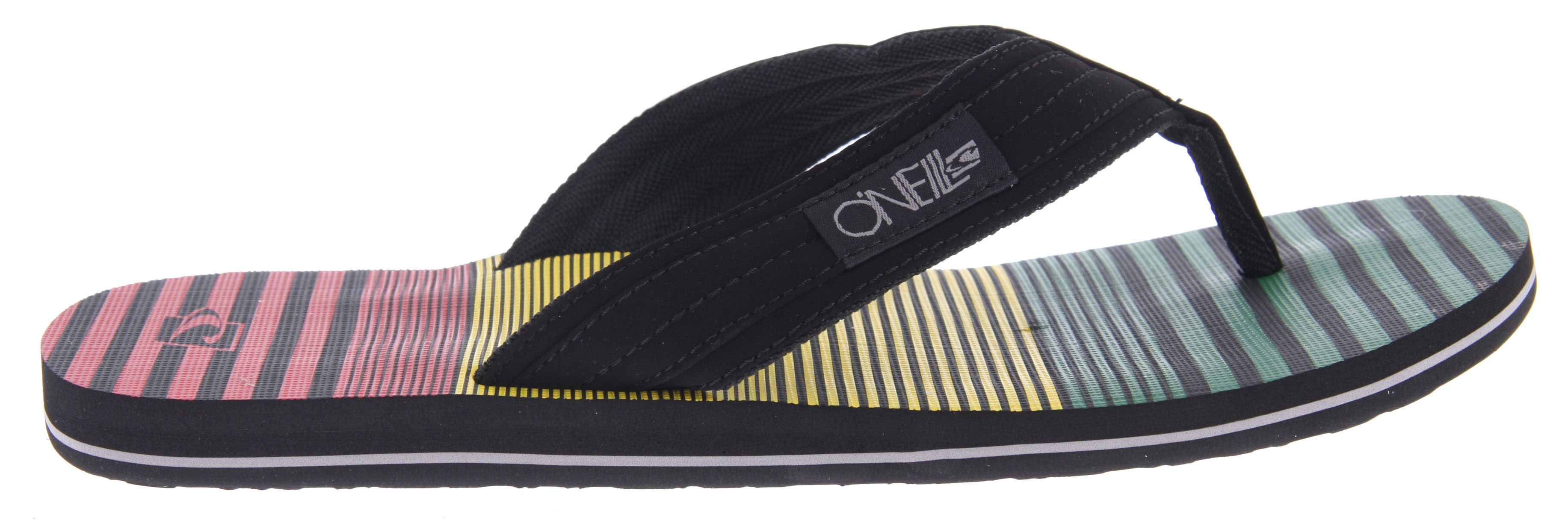 Surf Key Features of the O'Neill Imprint Daddy Sandals: PU nubuck upper Woven label on strap Embossed logo on heel Anatomically constructed arch support Rubber outsole Printed footbed - $12.95