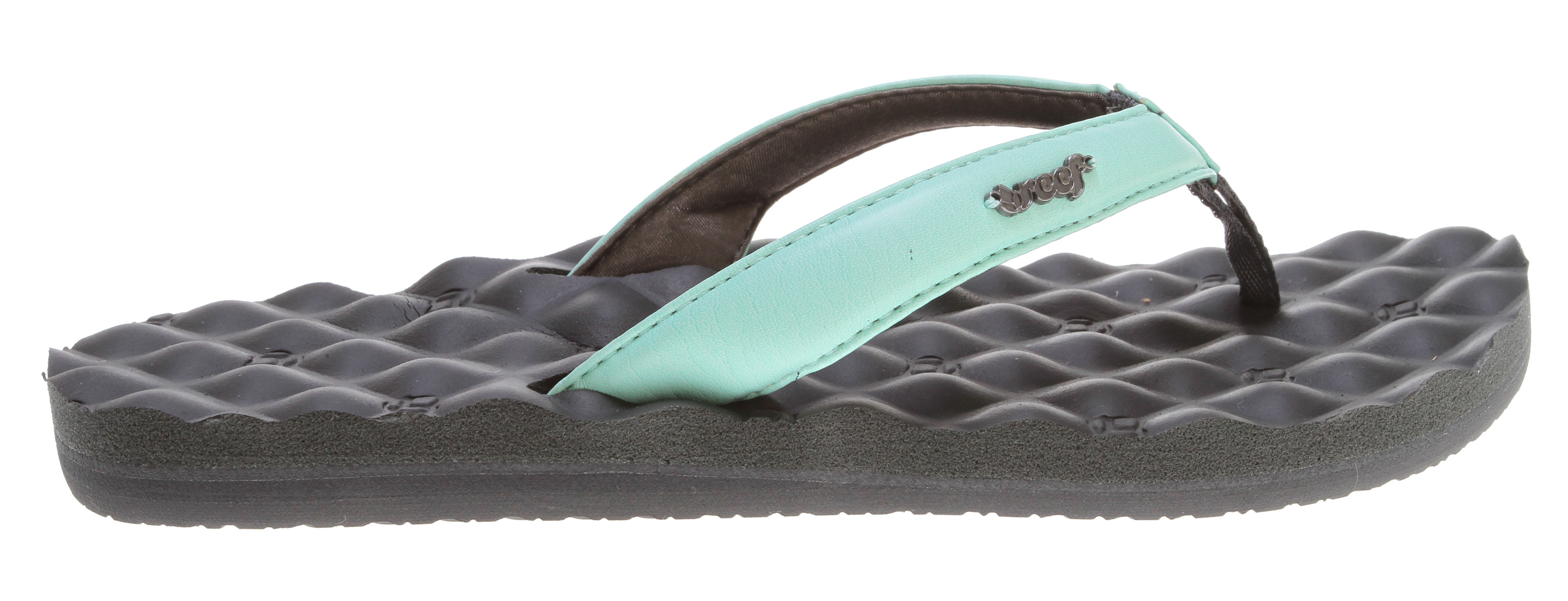 Surf Key Features of the Reef Dreams Sandals: So comfortable it's like you never left your bed Synthetic strap lined with soft padded satin mattress-inspired quilted pu foam footbed with anatomical arch support Rubber sponge outsole for flexibility Pvc free - $21.95