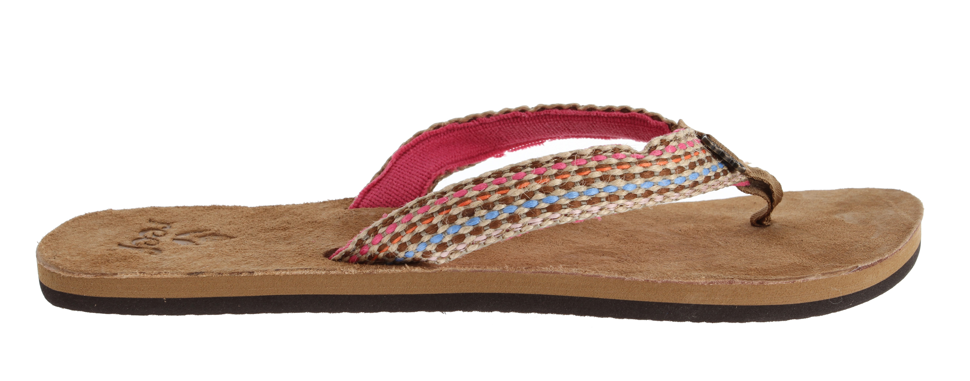 Surf Gypsies need love too. A soft suede leather footbed defines the Gypsy Love sandal, featuring woven strap of soft terrycloth lining, suede leather toepost overlay and woven polyester toe posts. These women's sandals also include anatomical arch support and rubber sponge outsole for flexibility. * Rubber Oustole * Terry Woven Label * Soft Suede Leather Footbed * Woven Strap of Soft Terrycloth Lining * Suede Leather Toepost Overlay * Woven Polyester Toe Posts * Anatomical Arch Support and Rubber Sponge Outsole - $37.95