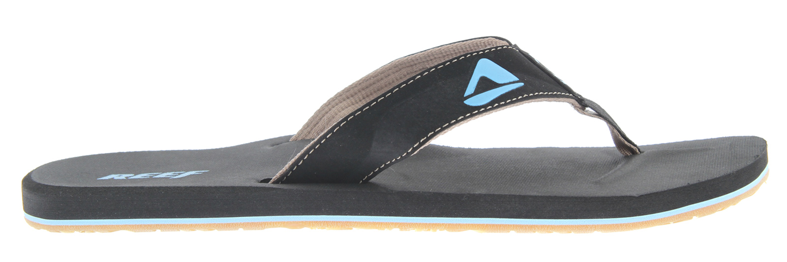 Surf Key Features of the Reef HT Sandals: Soft, comfortable, water-friendly synthetic nubuck upper Soft reef polyester woven lining Contoured eva footbed with anatomical arch support Grippy molded reef rubber outsole - $16.95