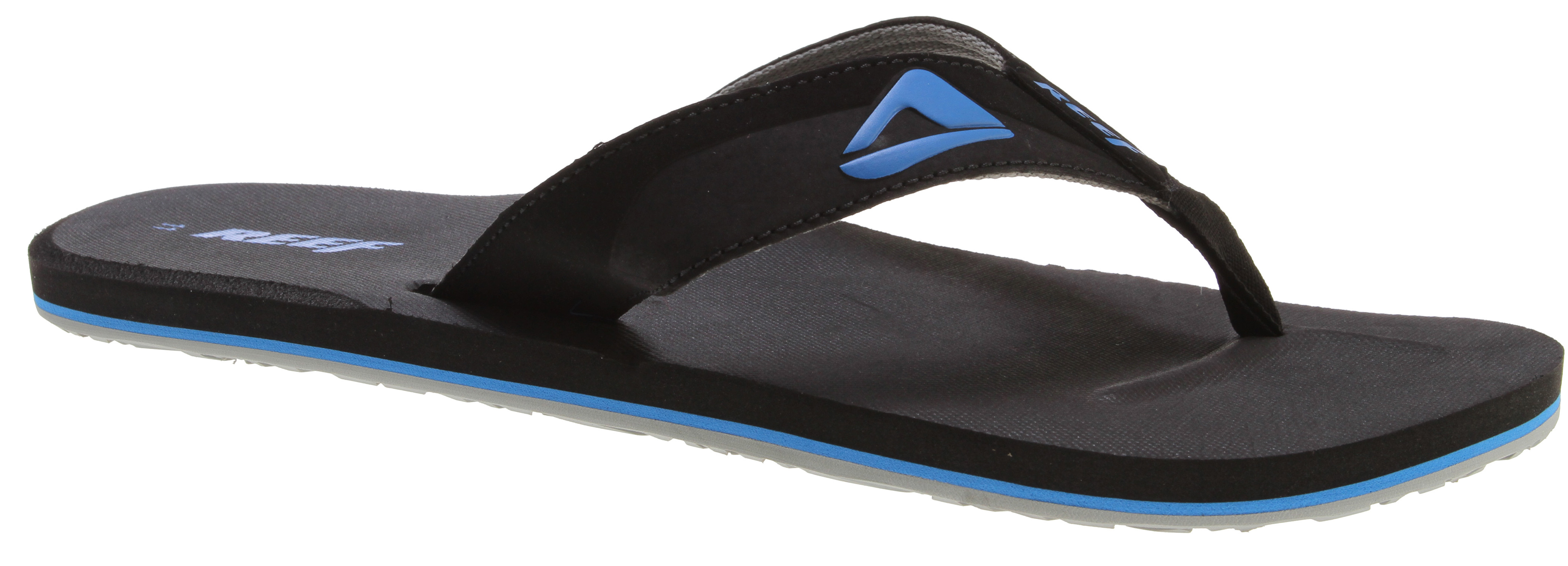 Surf Key Features of the Reef HT Sandals: Soft, comfortable, water friendly synthetic nubuck upper Soft reef polyester woven lining Contoured eva footbed with anatomical arch support Grippy molded reef rubber outsole - $17.95