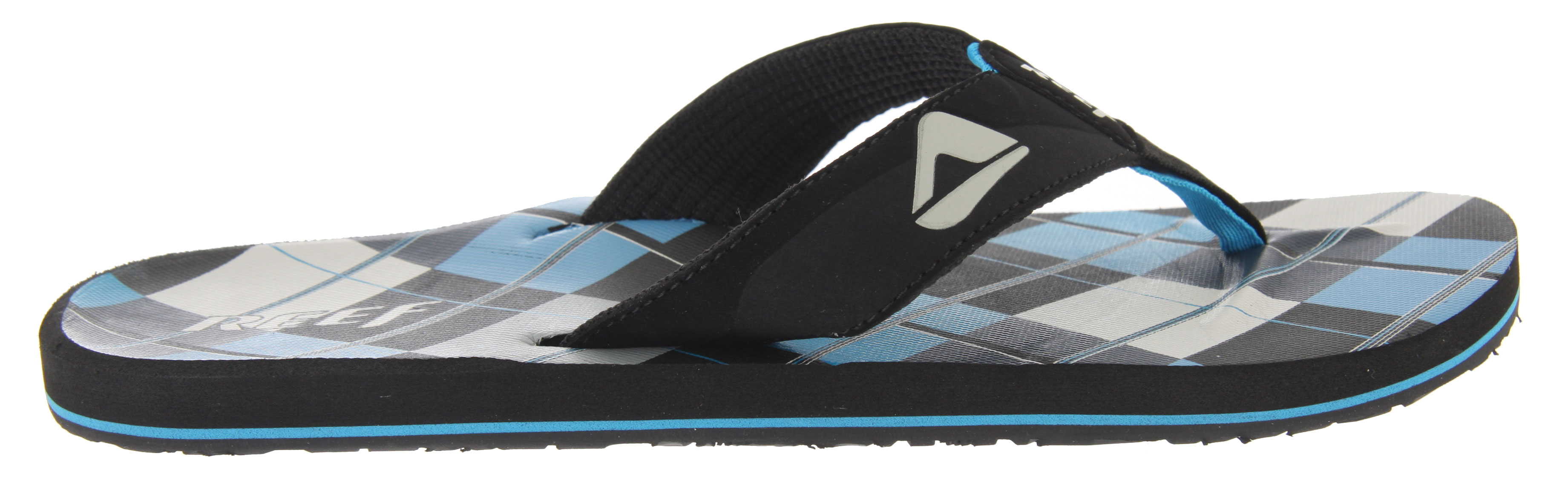Surf Reef HT Prints Sandals are made entirely of materials that don't mind getting wet, for wearers who like their fun mixed with H2O. Another great sandal from the massive line of Reef sandals, this thong style starts with man-made nubuck upper lined with polyester weave. Construction continues with an ergonomically correct arch support in the contoured midsole, ending with a rubber reef outer sole that delivers superior traction. Depend on Reef footwear for beach-friendly fashion and design inspired by the surf from a company with nearly three decades of industry experience and excellence.Key Features of the Reef HT Prints Sandals: Soft, comfortable, water friendly synthetic nubuck upper Soft reef polyester woven lining Contoured Eva footbed with anatomical arch support Grippy molded reef rubber outsole - $16.95