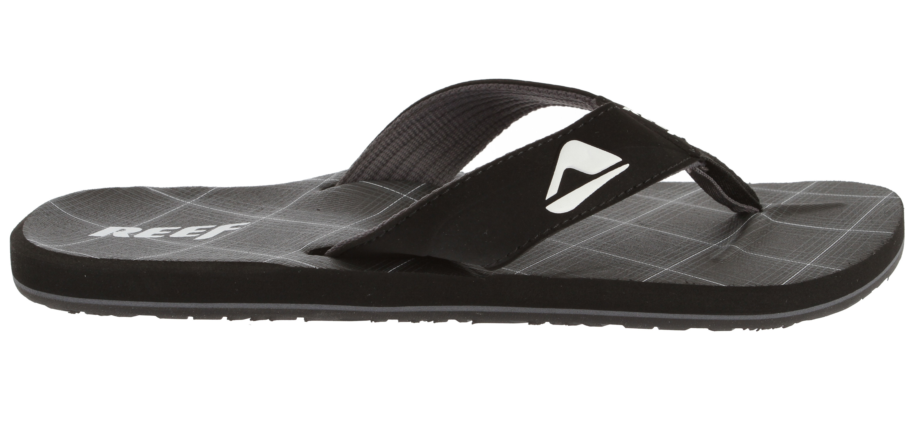 Surf From the beach to the Boulevard, the supreme comfort of the Reef HT Prints sandal will get you to your next destination in style and ease.Key Features of the Reef HT Prints Sandals: Soft, comfortable, water friendly synthetic nubuck upper Soft Reef polyester woven lining Contoured Eva footbed with anatomical arch support Grippy molded Reef rubber outsole - $20.95