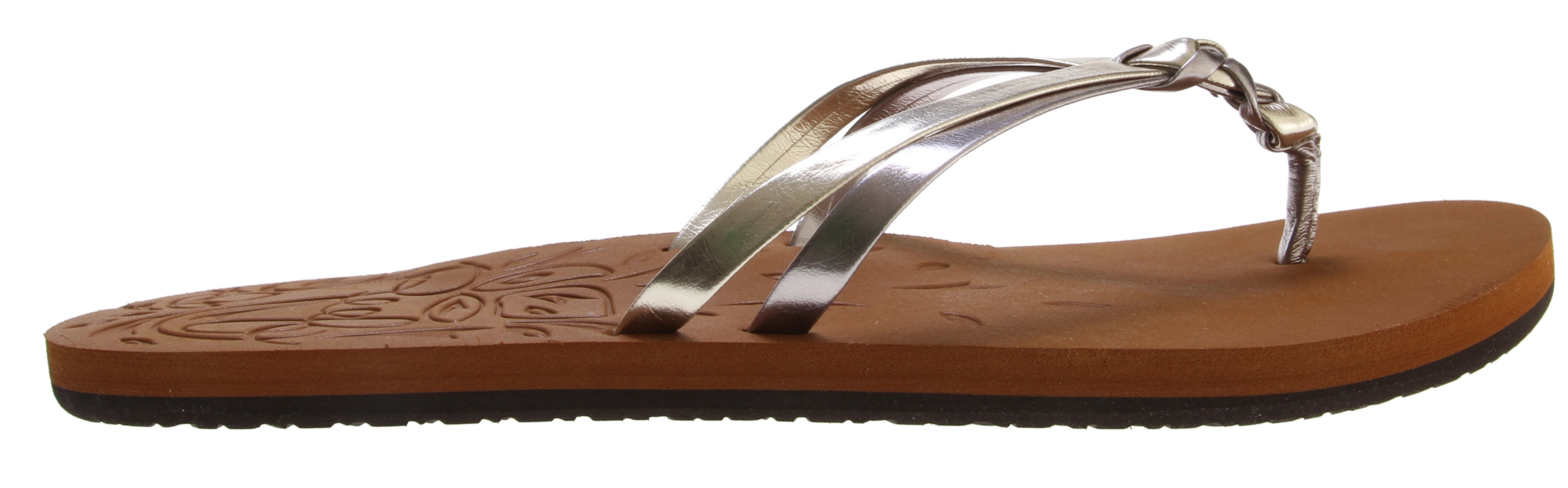 Surf Key Features of the Reef Kendall 2 Sandals: Synthetic strap featuring knot detail Eva footbed with embossed detail print and anatomical arch support Rubber sponge outsole for flexibility - $20.95
