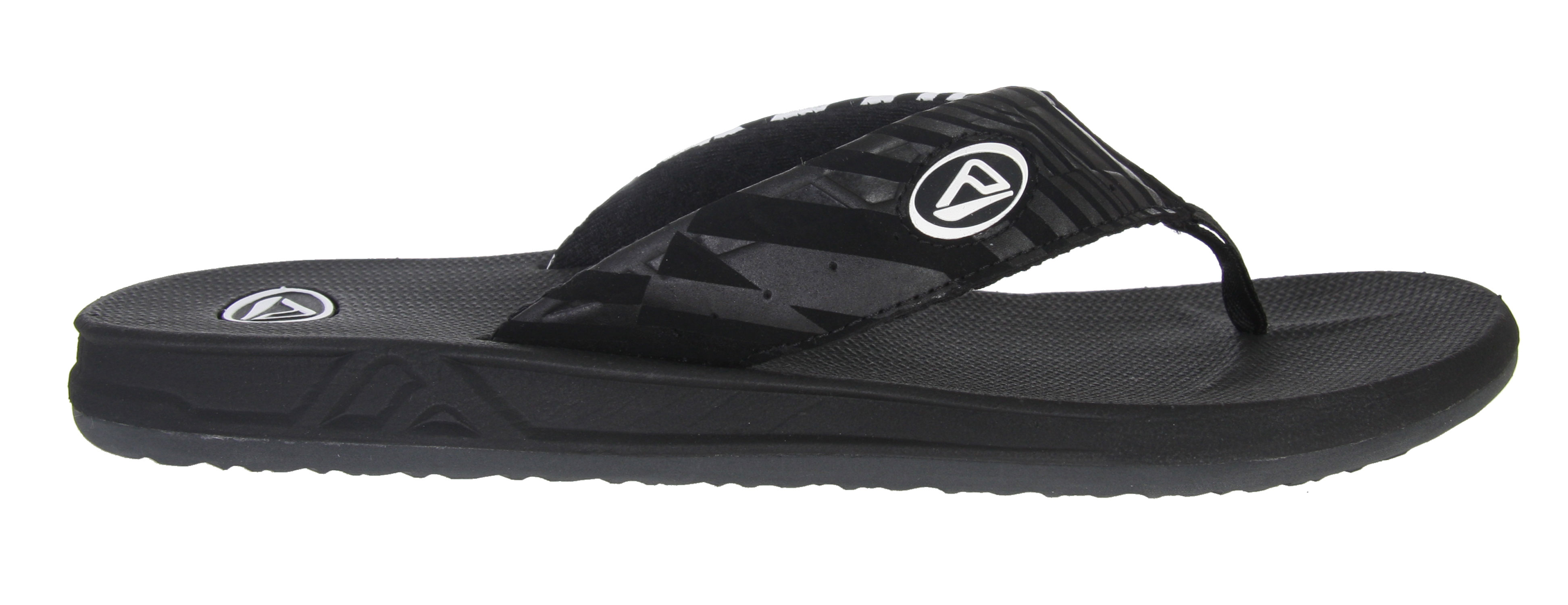 Surf Be prepared this season with the Reef Phantom Sandals. Featuring a water friendly upper, rock these sandals to the pool and have some fun by the water. With a molded footbed and great arch support, feel comfortable all summer long. Its rubber soles will keep you from slipping and falling. So, get in the mood for some summer fun and get in these Reef Phantom Sandals.Key Features of the Reef Phantom Sandals: Soft, comfortable, water friendly synthetic nubuck upper Air mesh lining Contoured compression molded EVA footbed with anatomically correct arch support Durable and grippy high density EVA outsole - $20.95