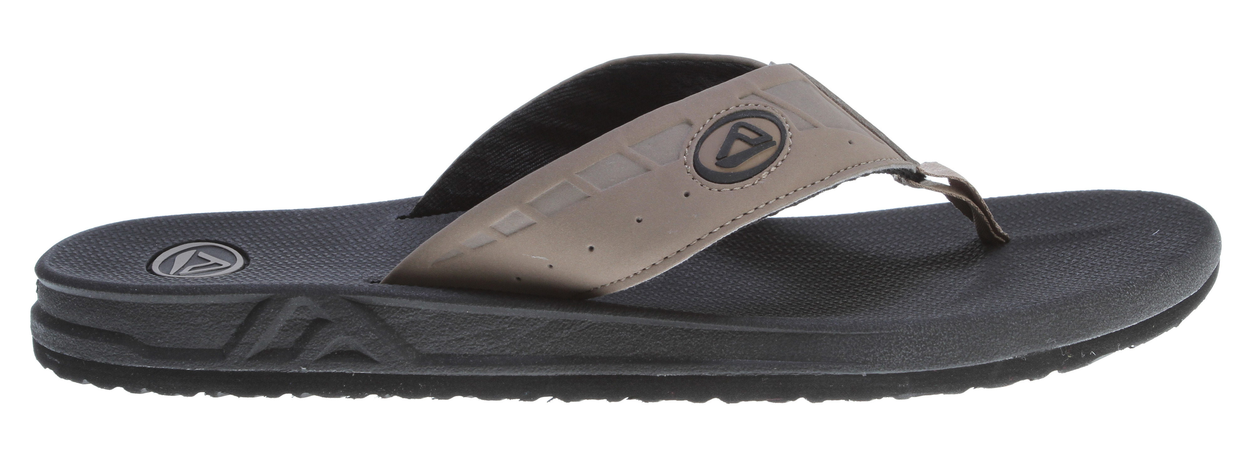 Surf Key Features of the Reef Phantoms Sandals: soft, comfortable, water friendly synthetic nubuck upper with air mesh lining contoured compression molded eva footbed with anatomical arch support Durable and grippy molded high density eva outsole - $20.95
