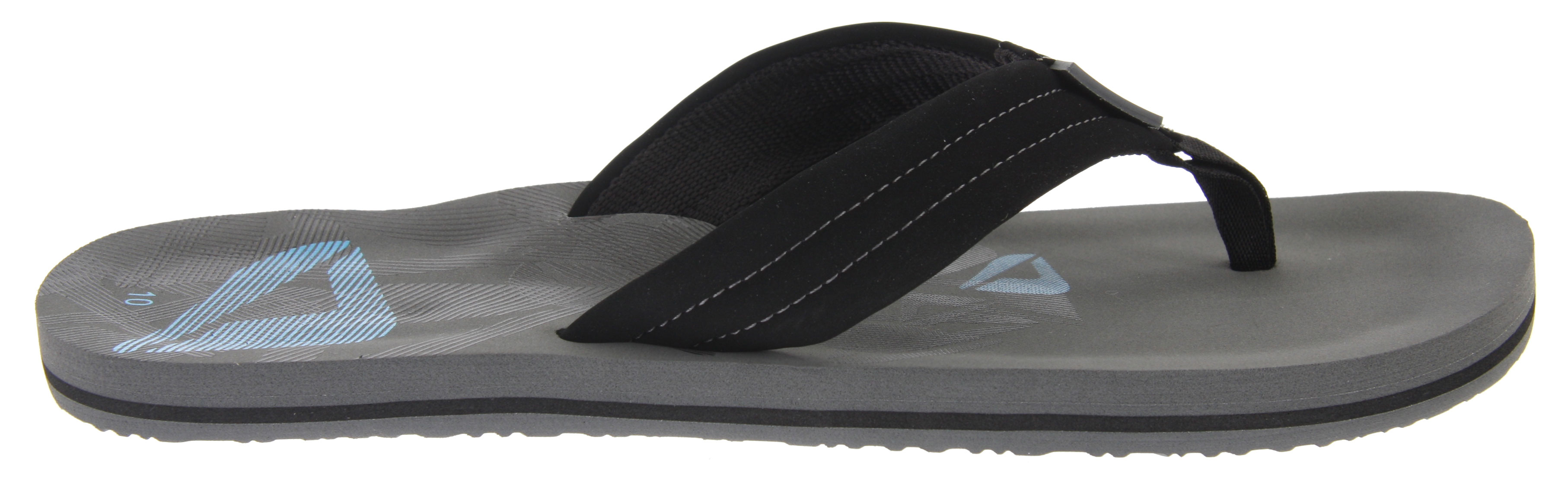 Surf Key Features of the Reef Seared Ahi Sandals: Soft, Comfortable Water Friendly Synthetic Nubuck Upper Soft Woven Lining Contoured Eva Footbed With Anatomical Arch Support Printed Footbed Graphics Grippy Molded Reef Rubber Outsole - $13.95