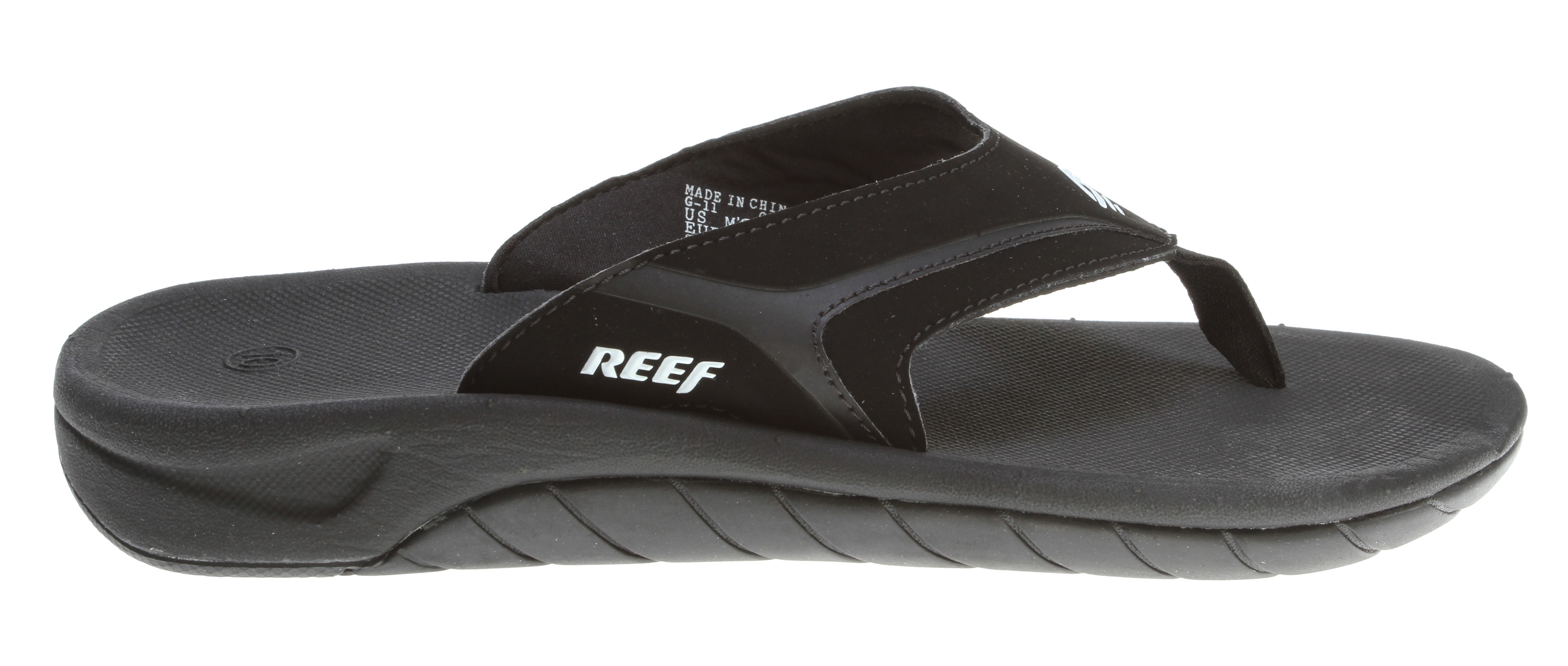 Surf Key Features of the Reef Slap II Sandals: A reef classic updated comfortable, water friendly synthetic nubuck upper with emboss details Soft padded textile lining original slap contoured compression molded eva footbed with anatomical arch support Durable non-marking rubber outsole - $28.95