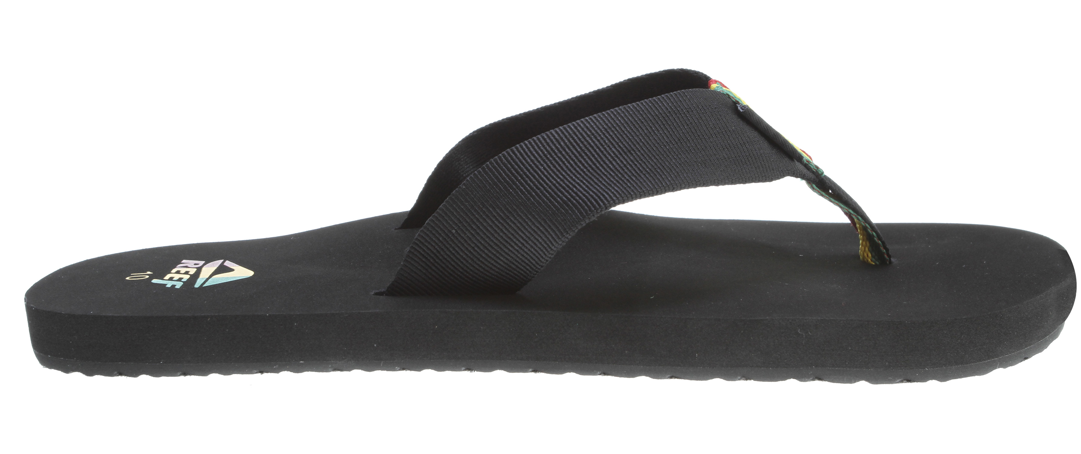 Surf Key Features of the Reef Todos Sandals: New basic perfect for every day at the beach Classic, comfortable, woven upper straps Soft eva footbed with anatomical arch support High density eva outsole - $13.95