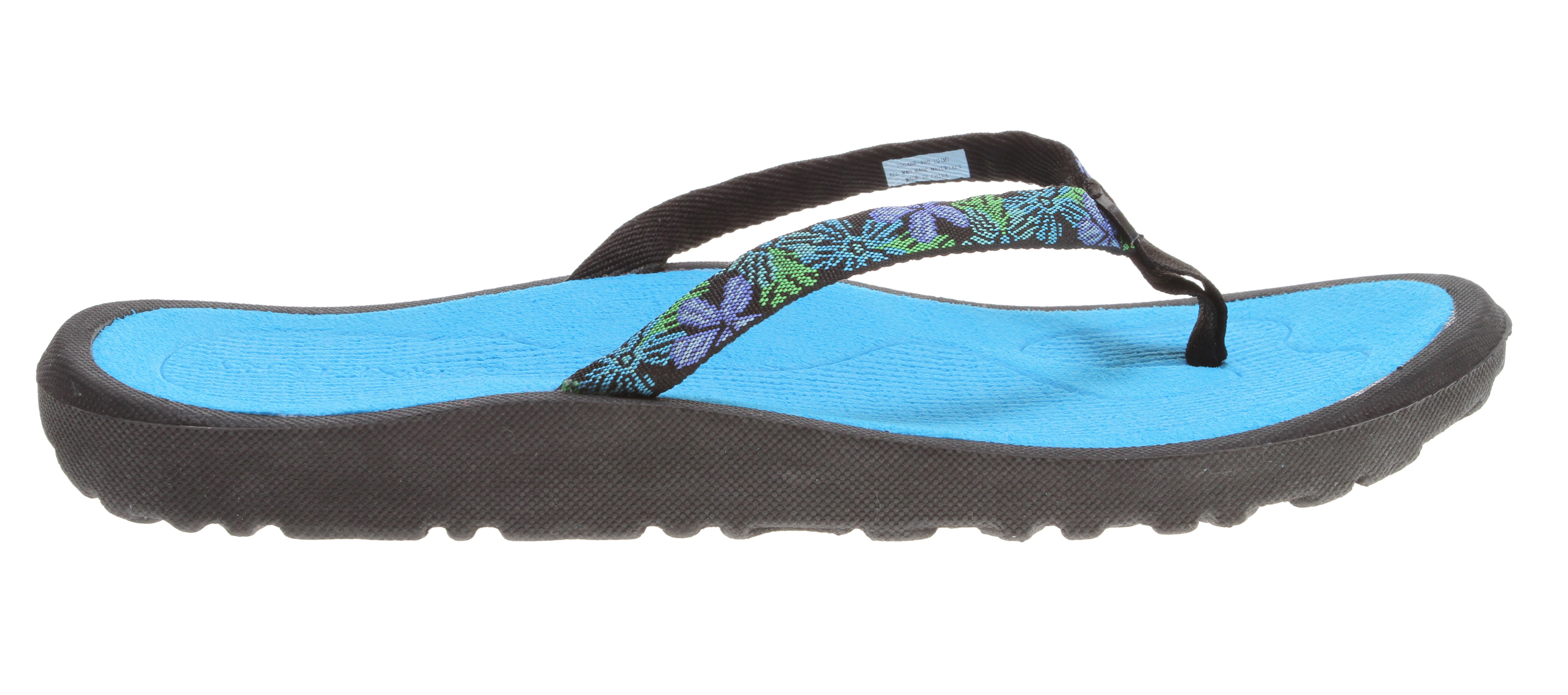 Surf Key Features of the Rafters Breeze Sandals: Ultra lightweight with more arch support and heel cushioning Nylon upper that's soft to the foot, longer wearing BOUNCE footbed allows for great resiliency in every step - $15.95