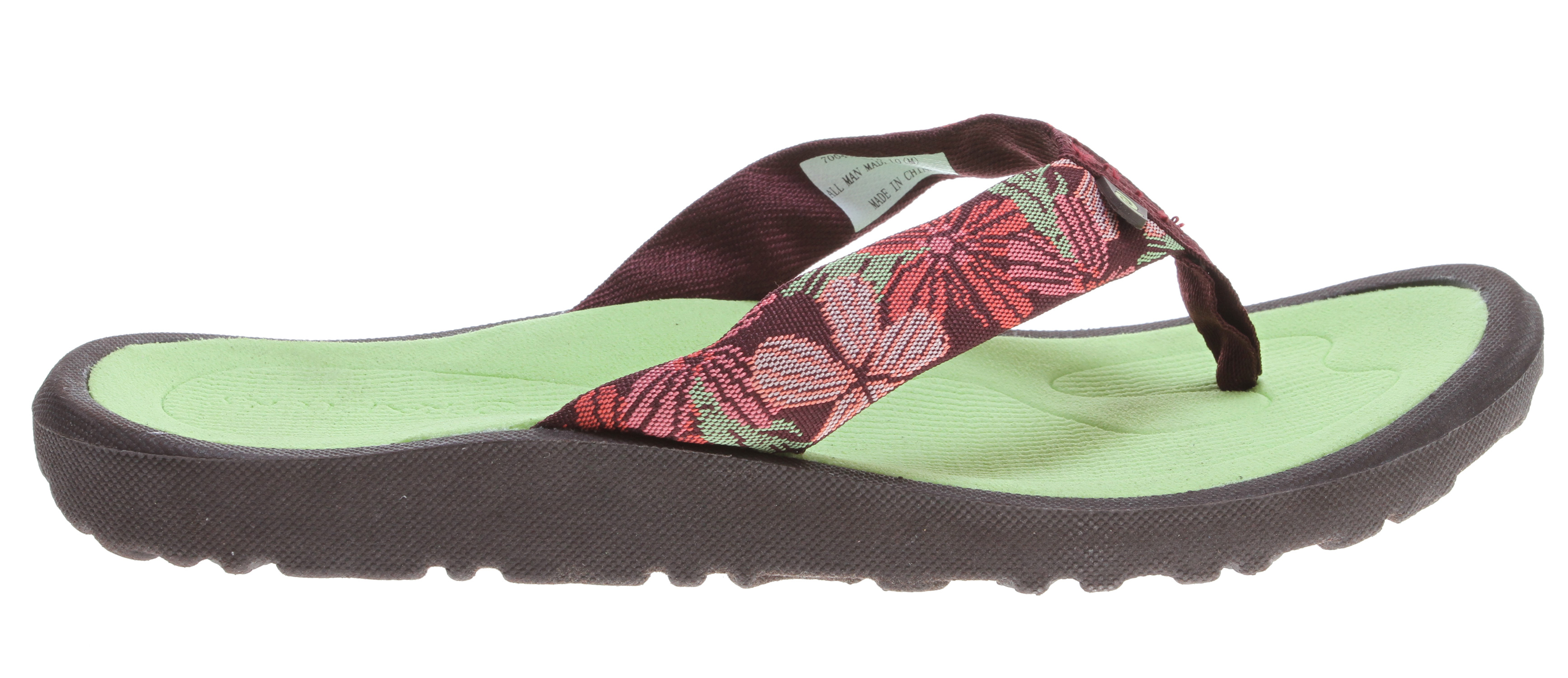 Surf Key Features of the Rafters Breeze Sandals: Ultra lightweight with more arch support and heel cushioning Nylon upper that's soft to the foot, longer wearing BOUNCE footbed allows for great resiliency in every step - $16.95