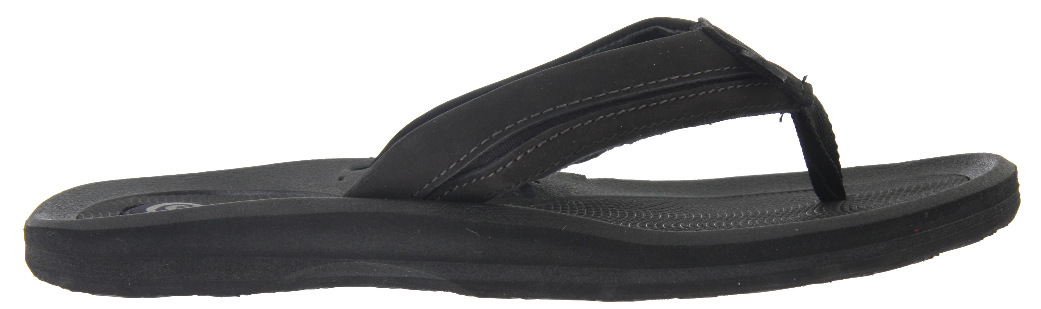 Surf Key Features of the Rafters Tsunami Leather Sandals : Nubuck leather upper lined with pigskin Soft textured EVA footbed Heel cushion Arch support - $14.95