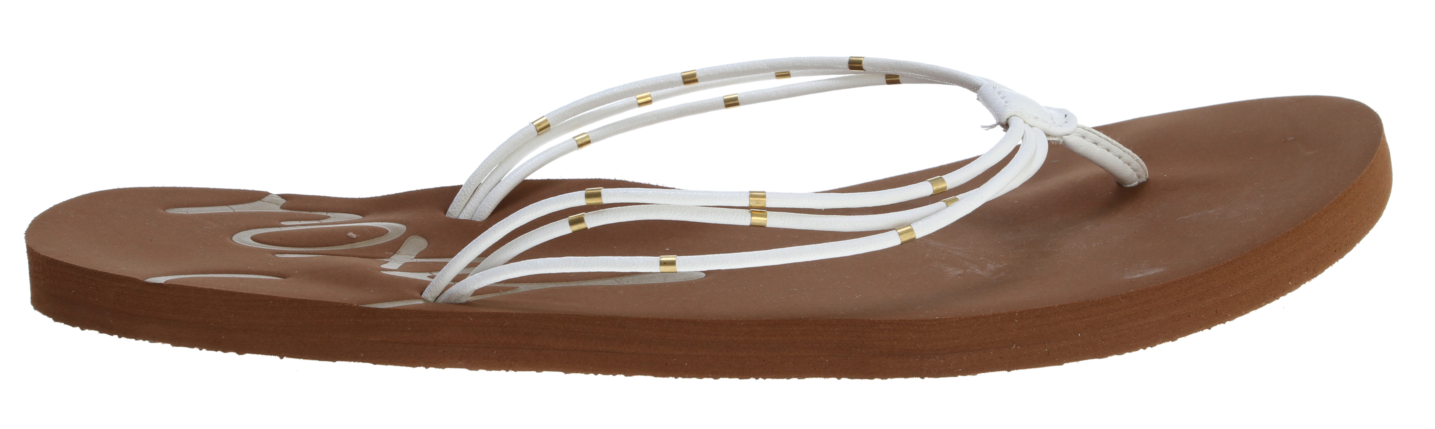 Surf Key Features of the Roxy Rica Sandals: Ornamented multi strap upper in soft pu Soft EVA footbed w/ ROXY emboss - $16.95